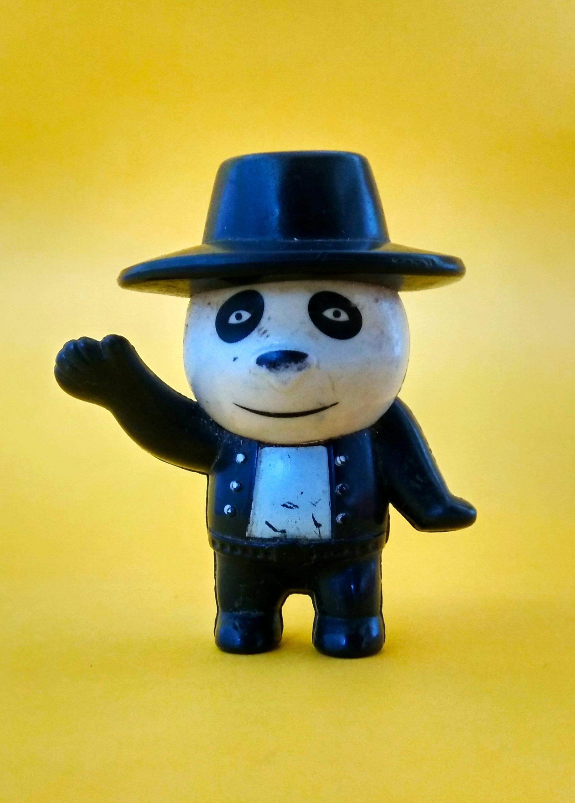 A panda toy