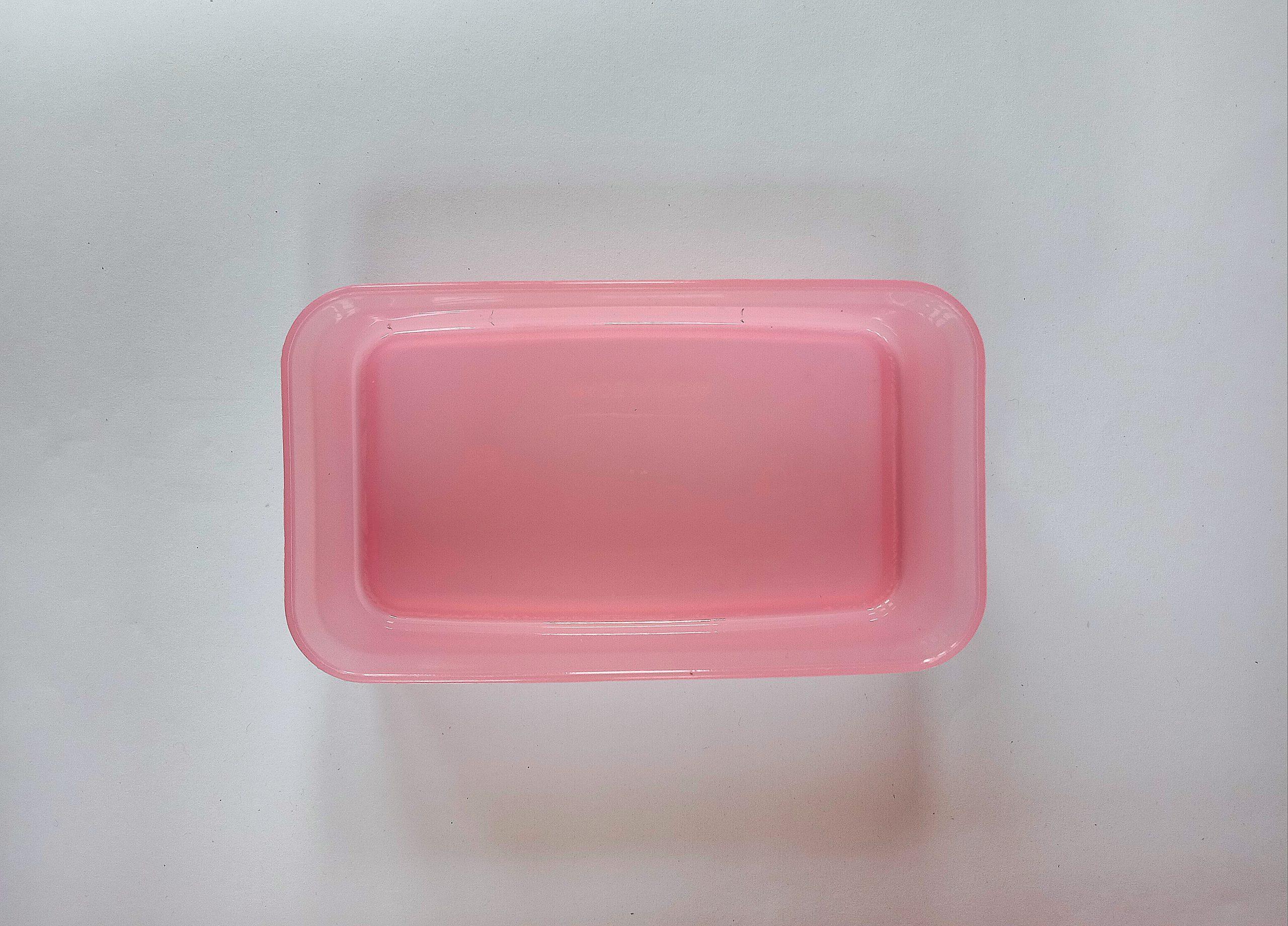 A plastic box
