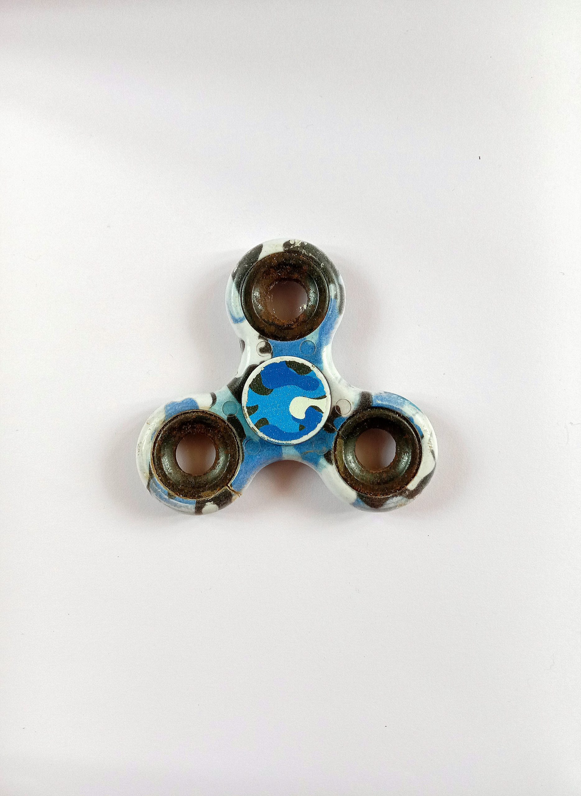 A spinner toy