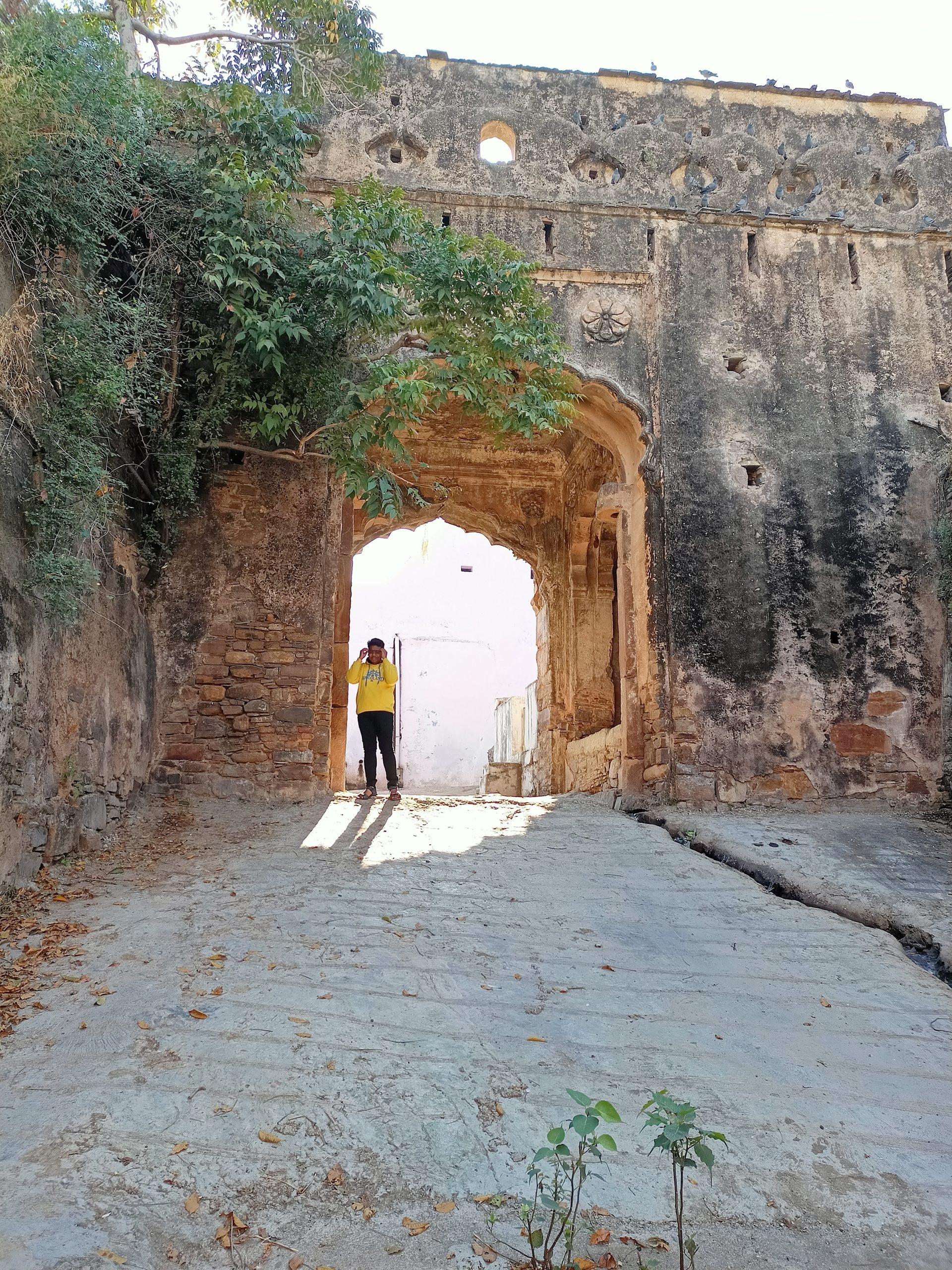 An historic gate