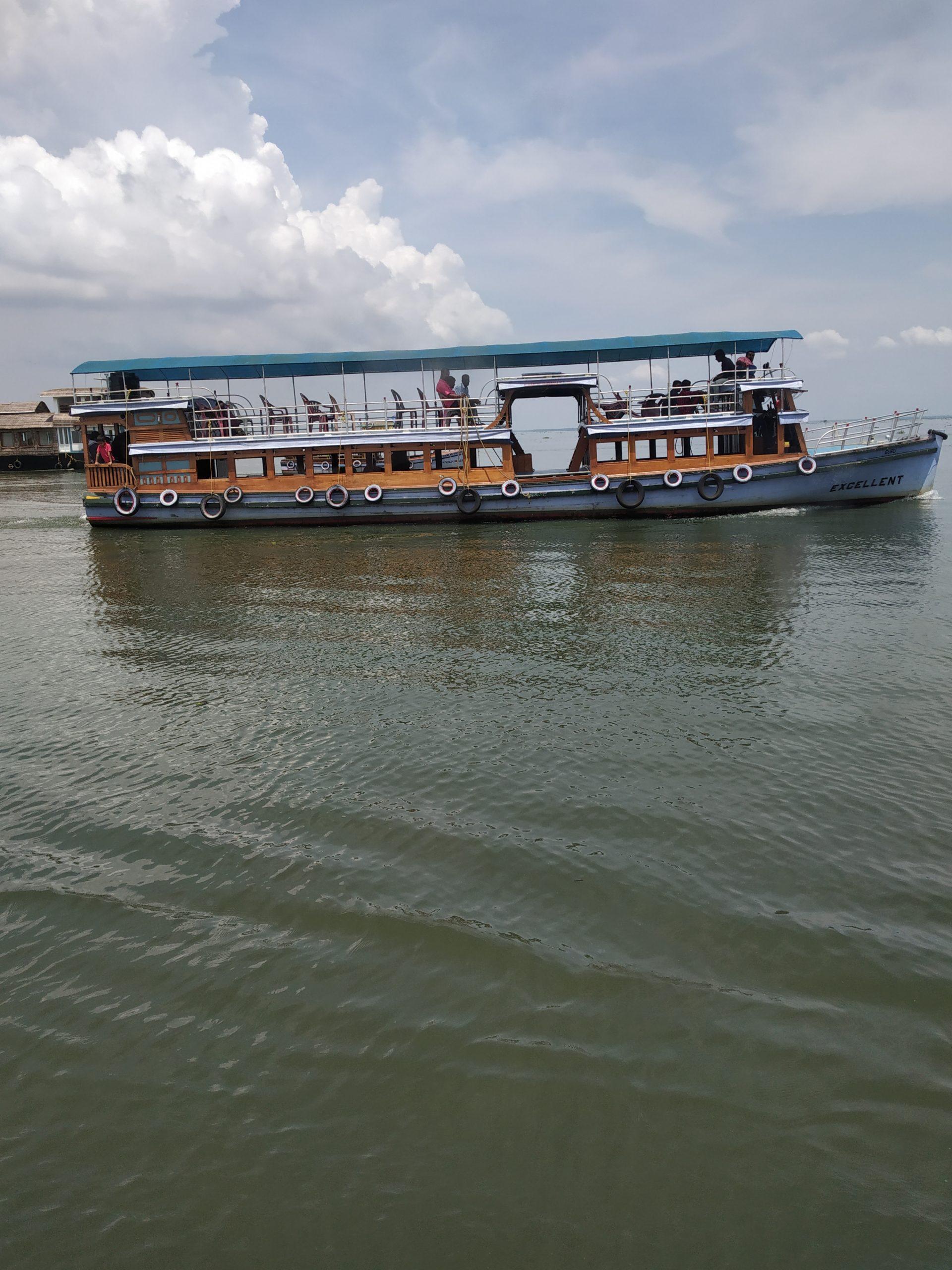 A ferry boat in Azhapuzha