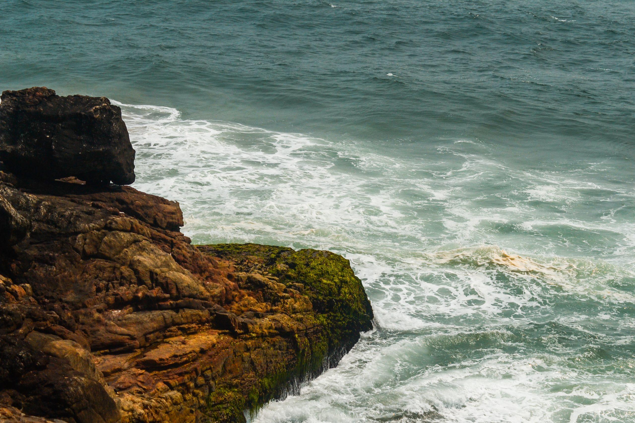 Azhimala Cliff and Beach