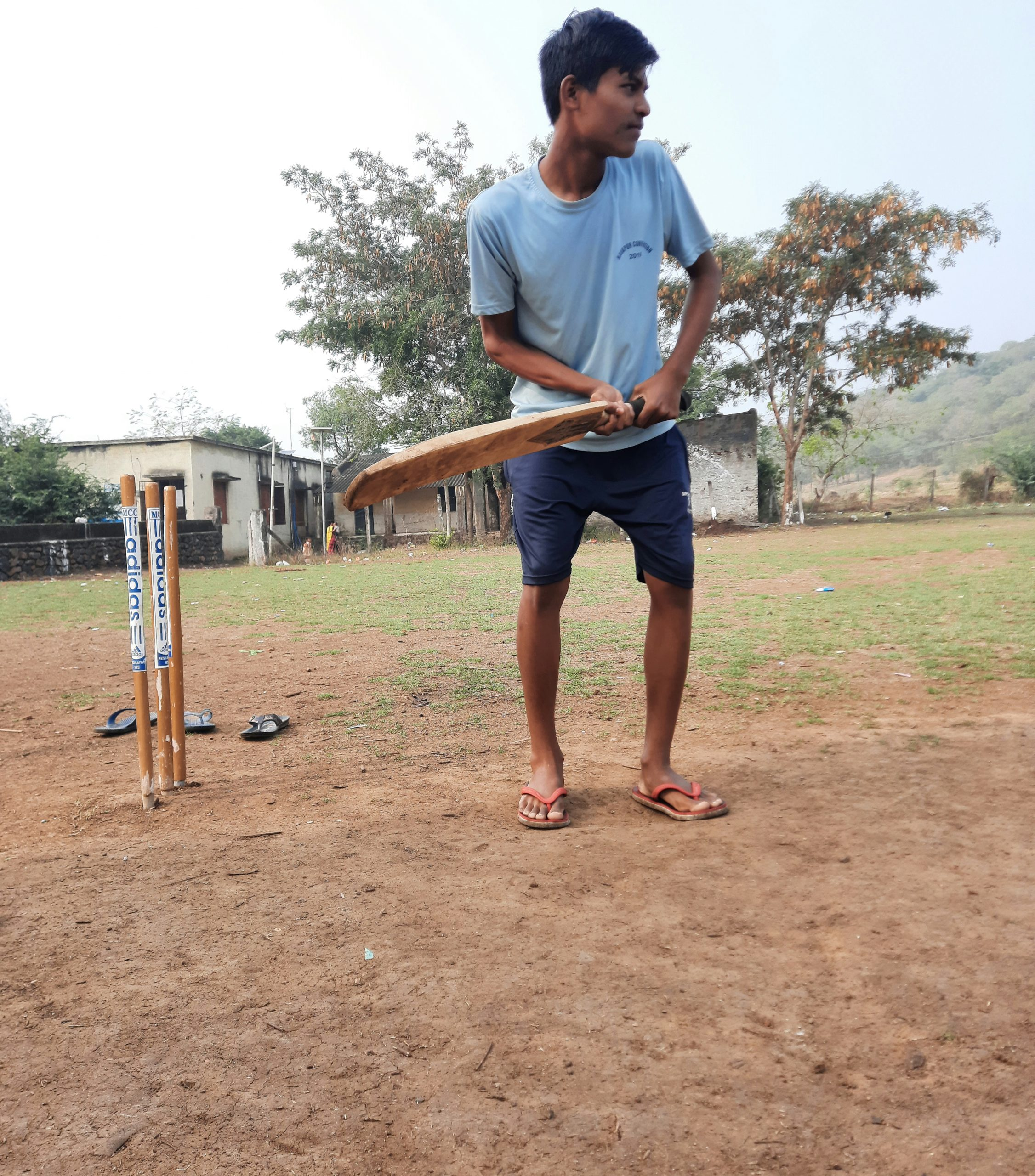 man batting