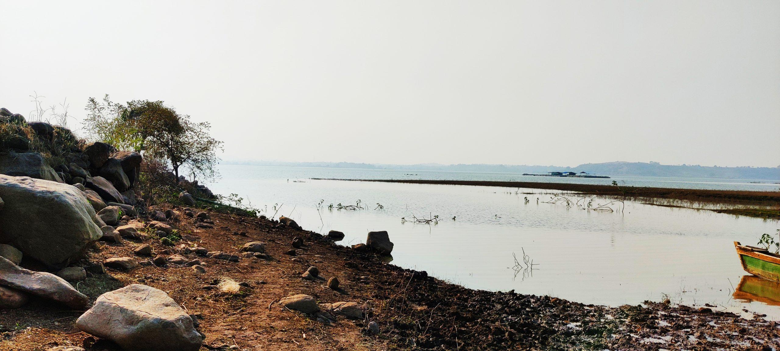 Landscape of water body