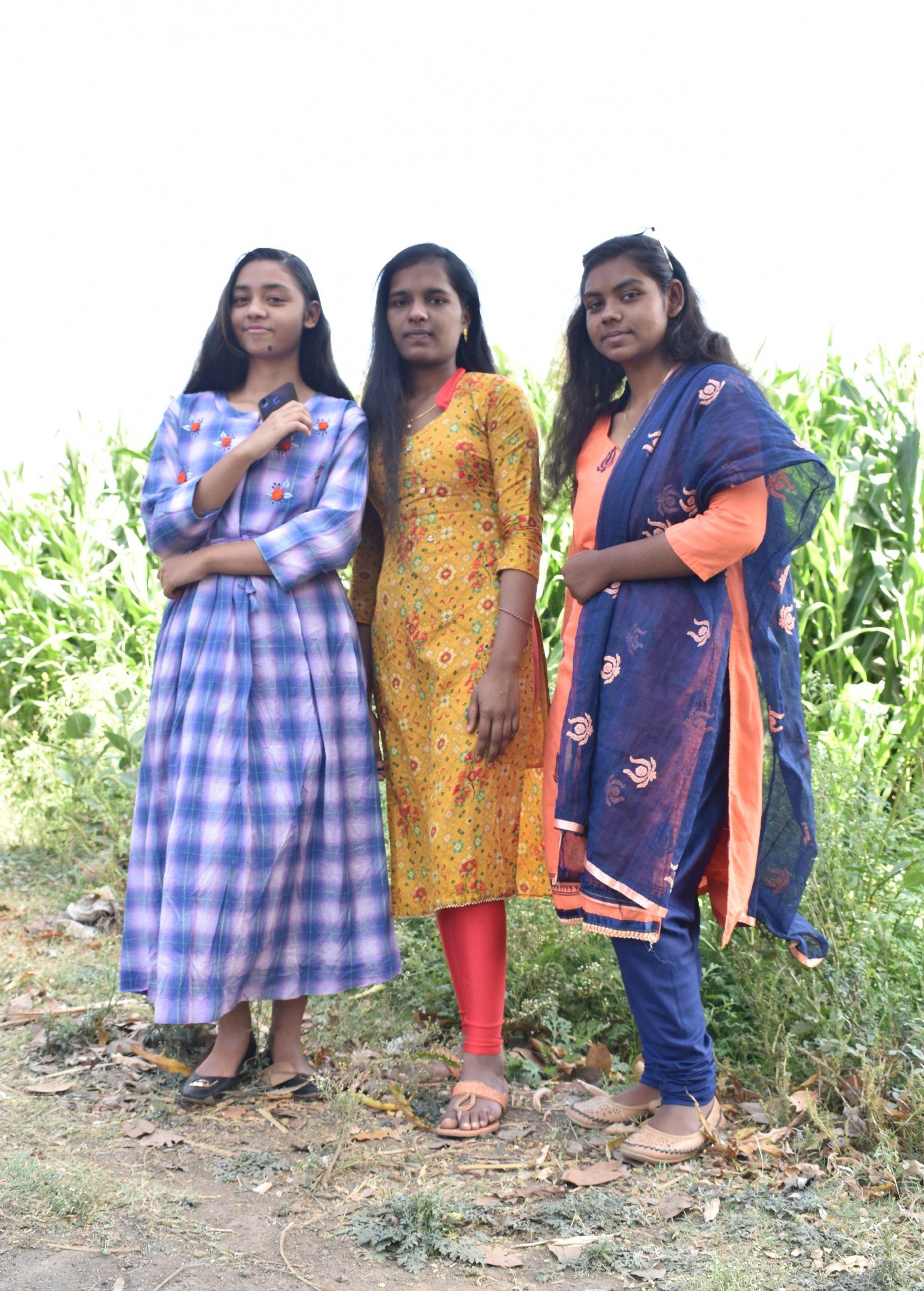 Girls of a village