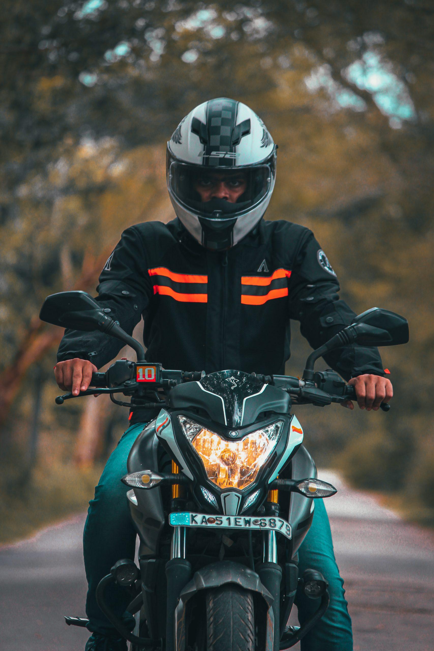 Bike Rider Portrait
