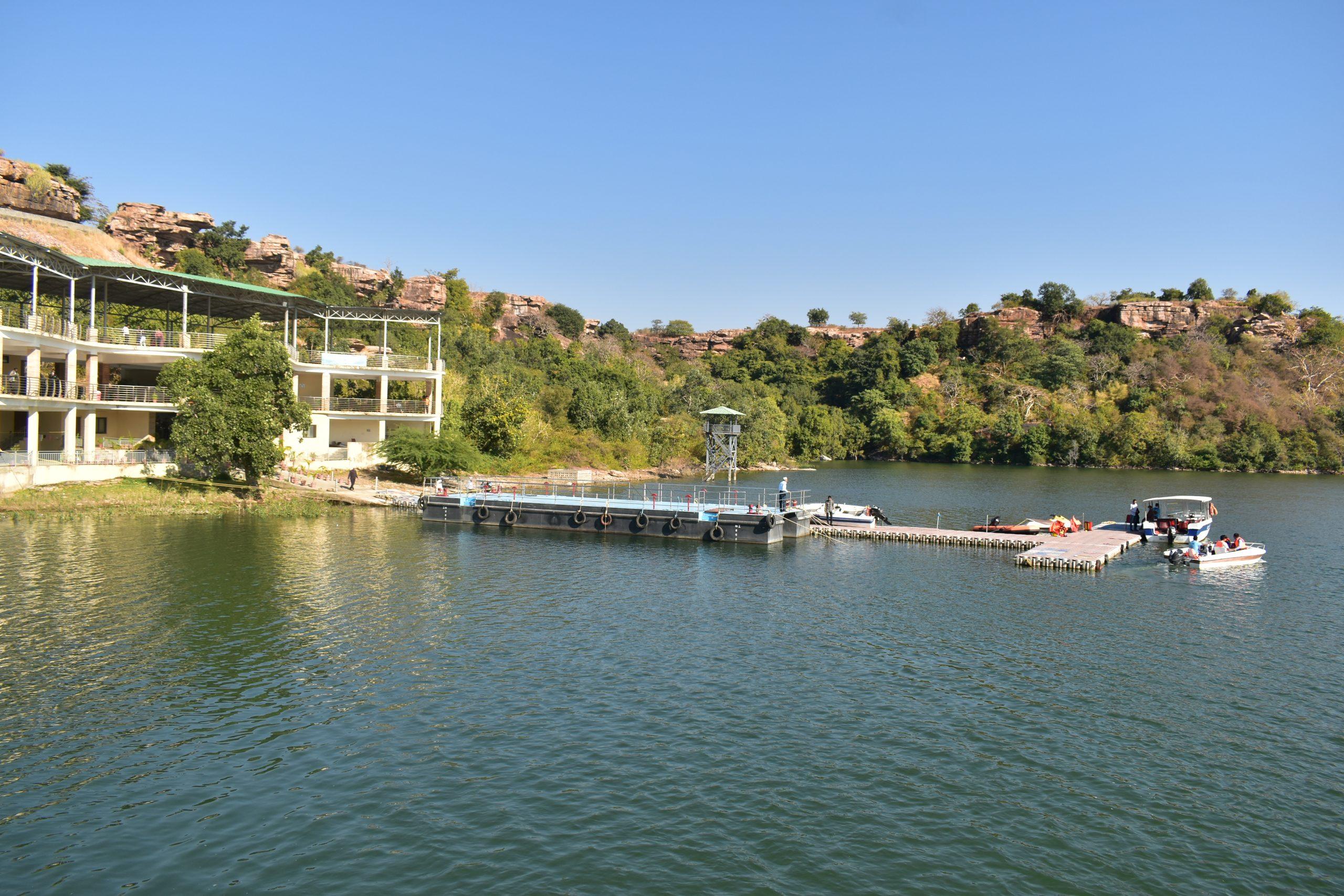 Boat club at Gandhi Sagar