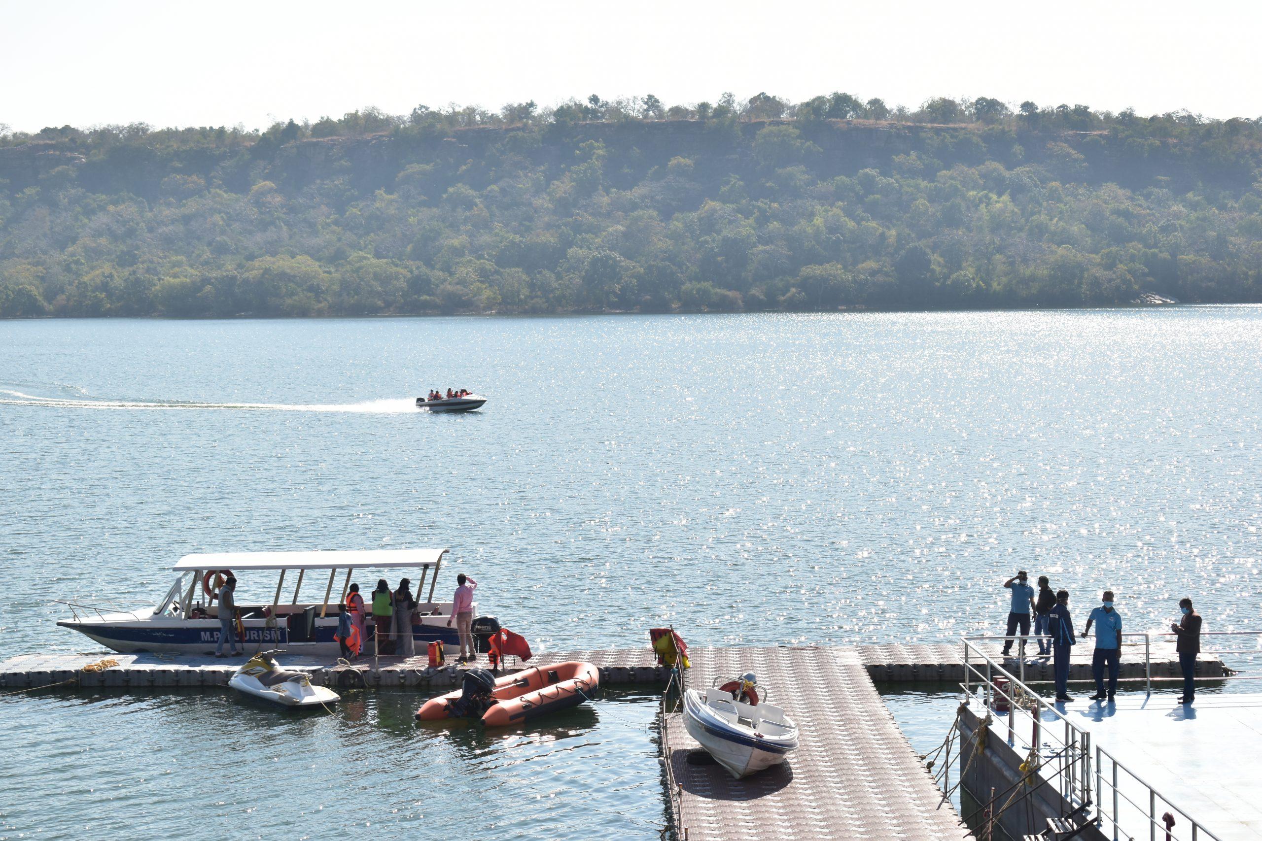 people enjoying boat ride