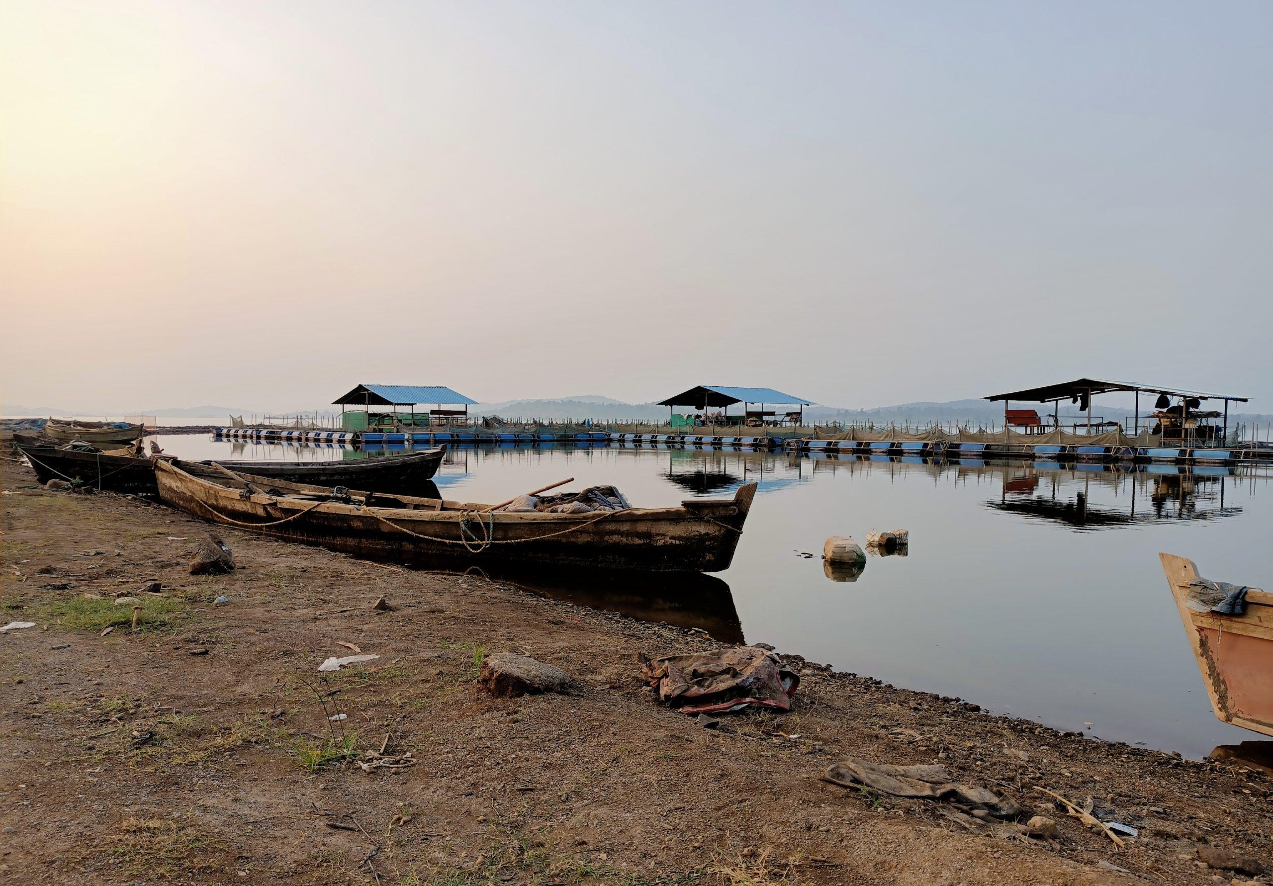 Boats at a port