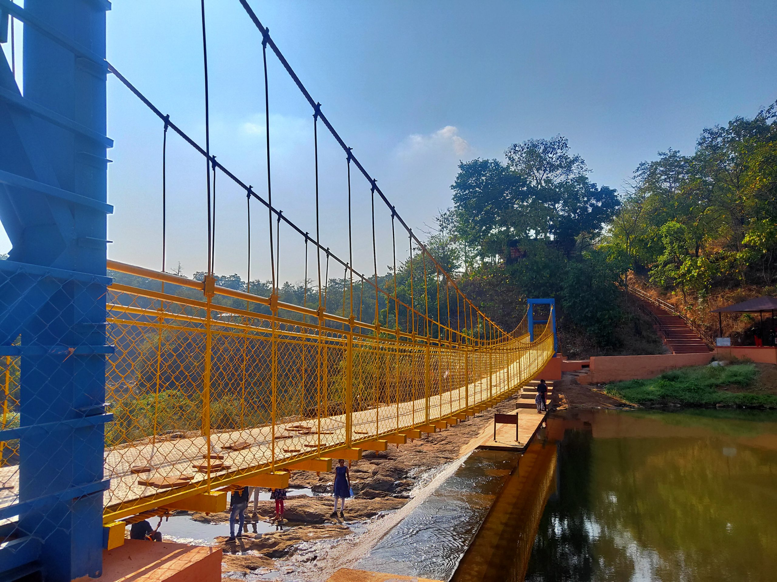 bridge with water underneath