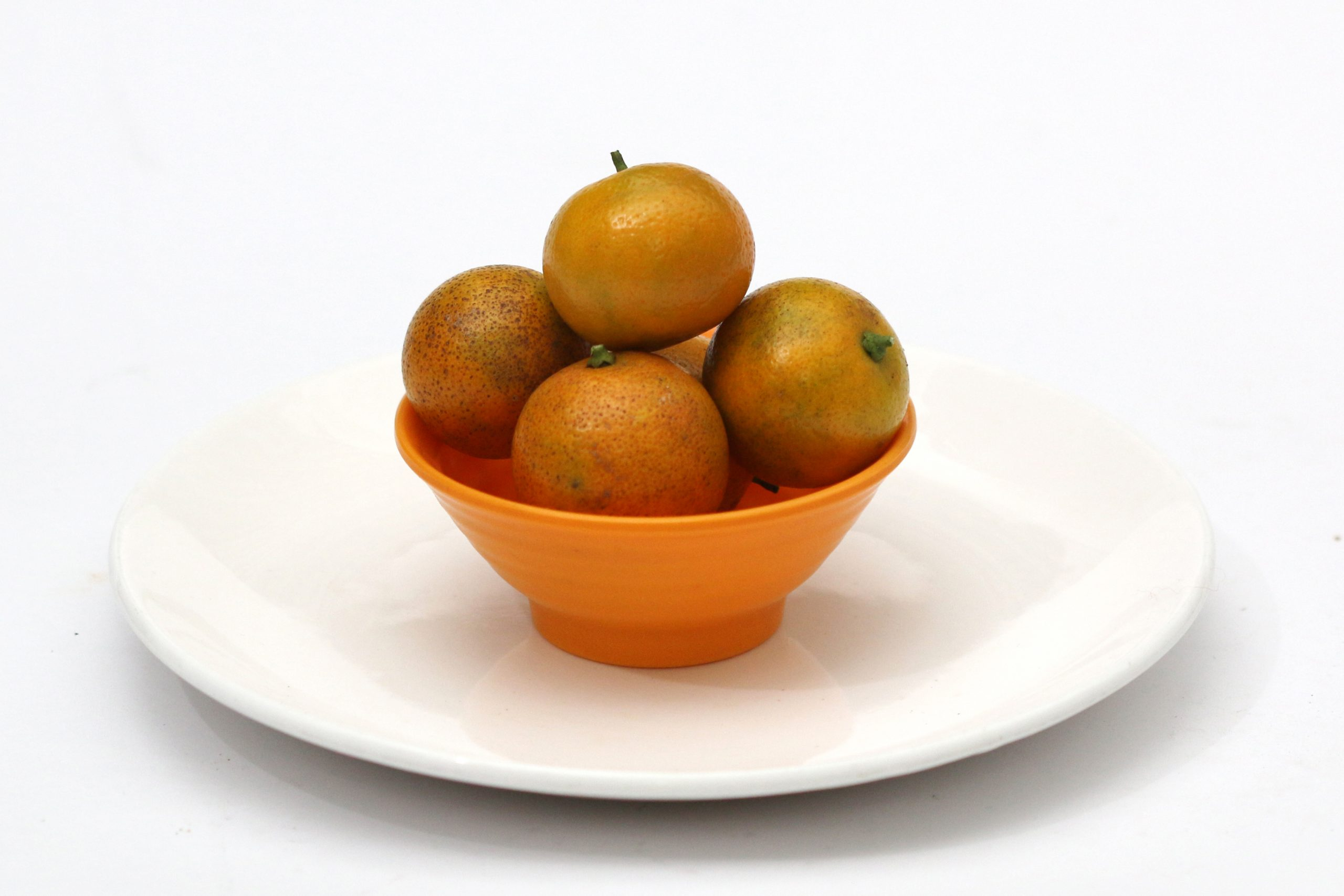 Calamansi orange in bowl