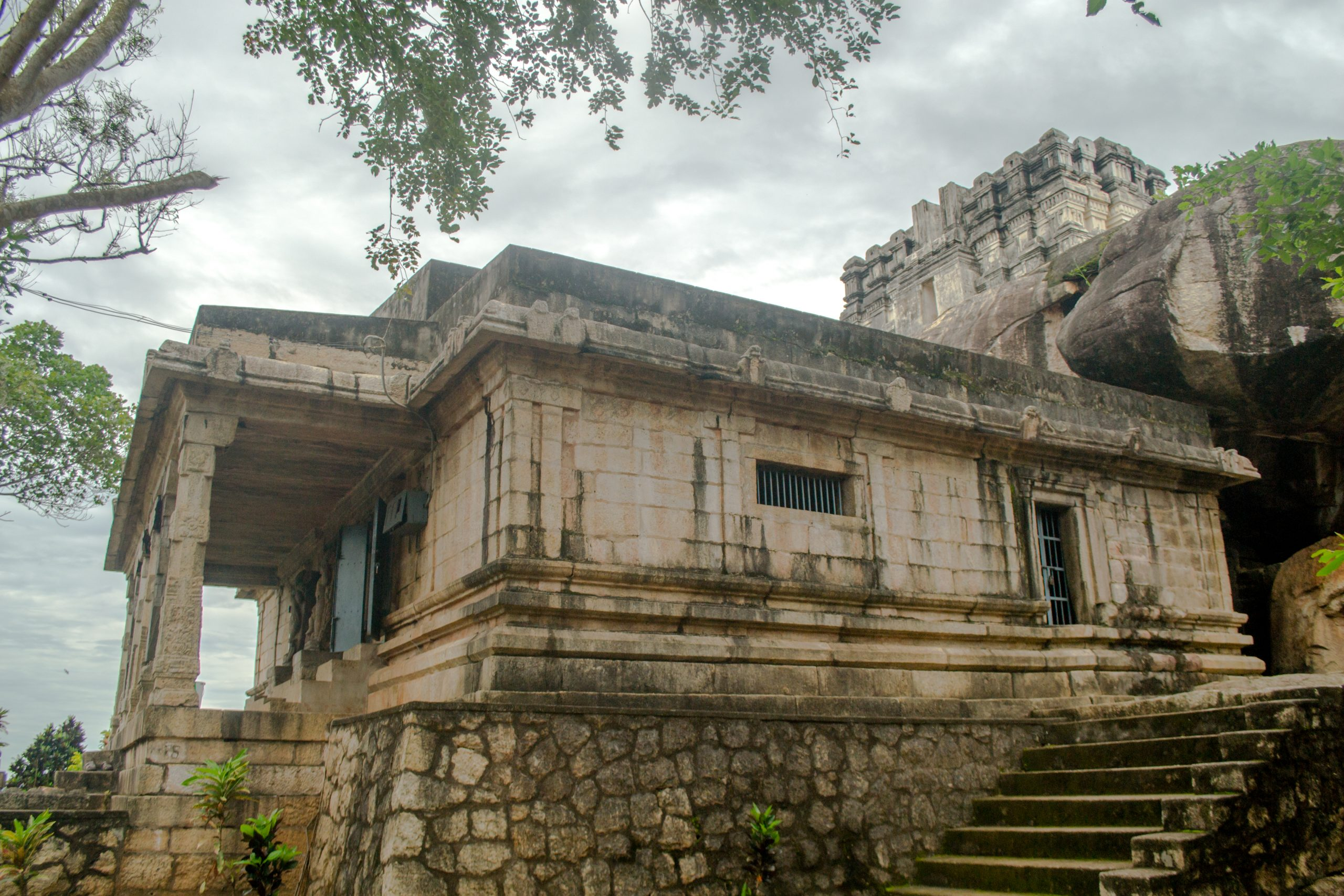 Chitharal Jain temple in Tamil Nadu