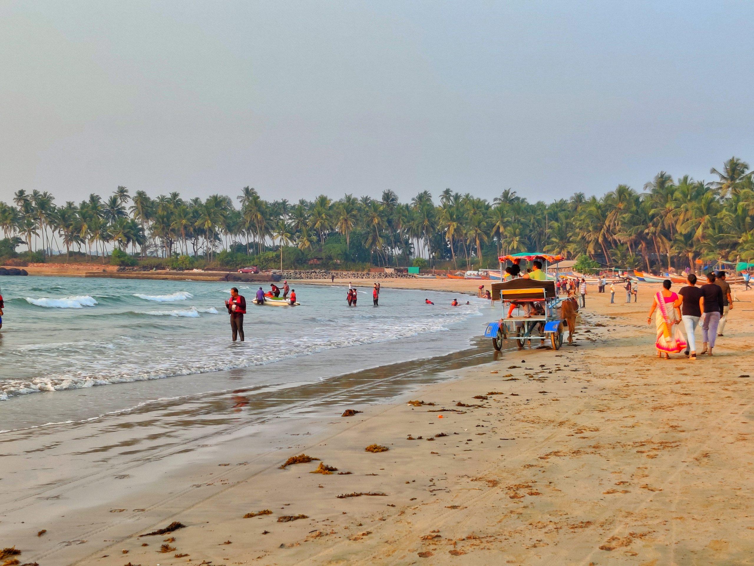 Chivala beach in Malvan