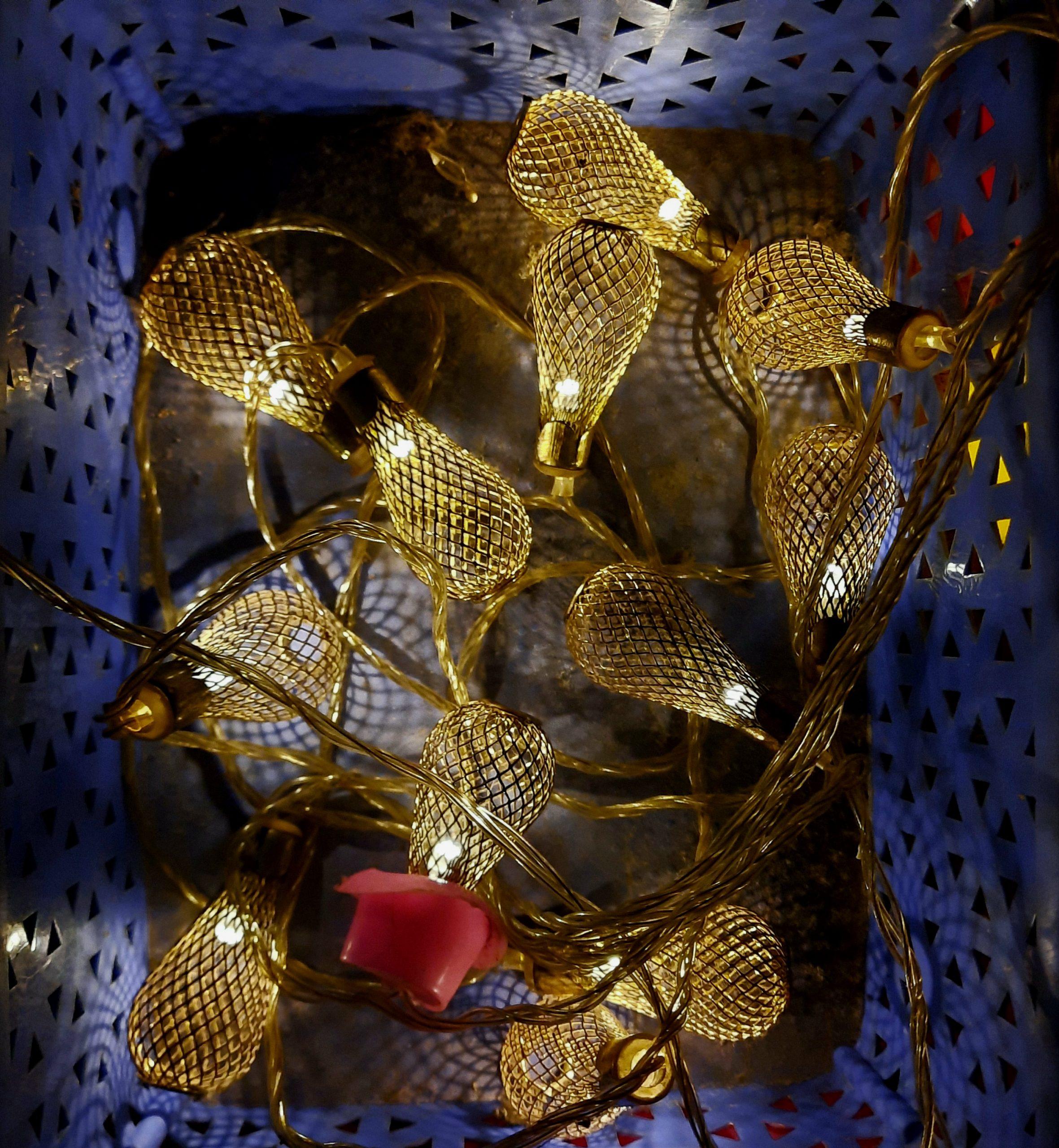 Christmas Lighting wire