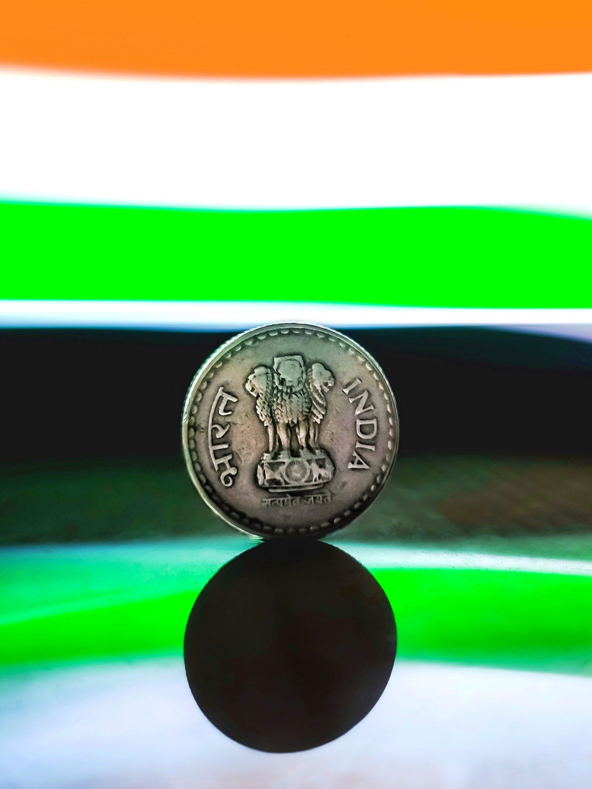 Indian money coin