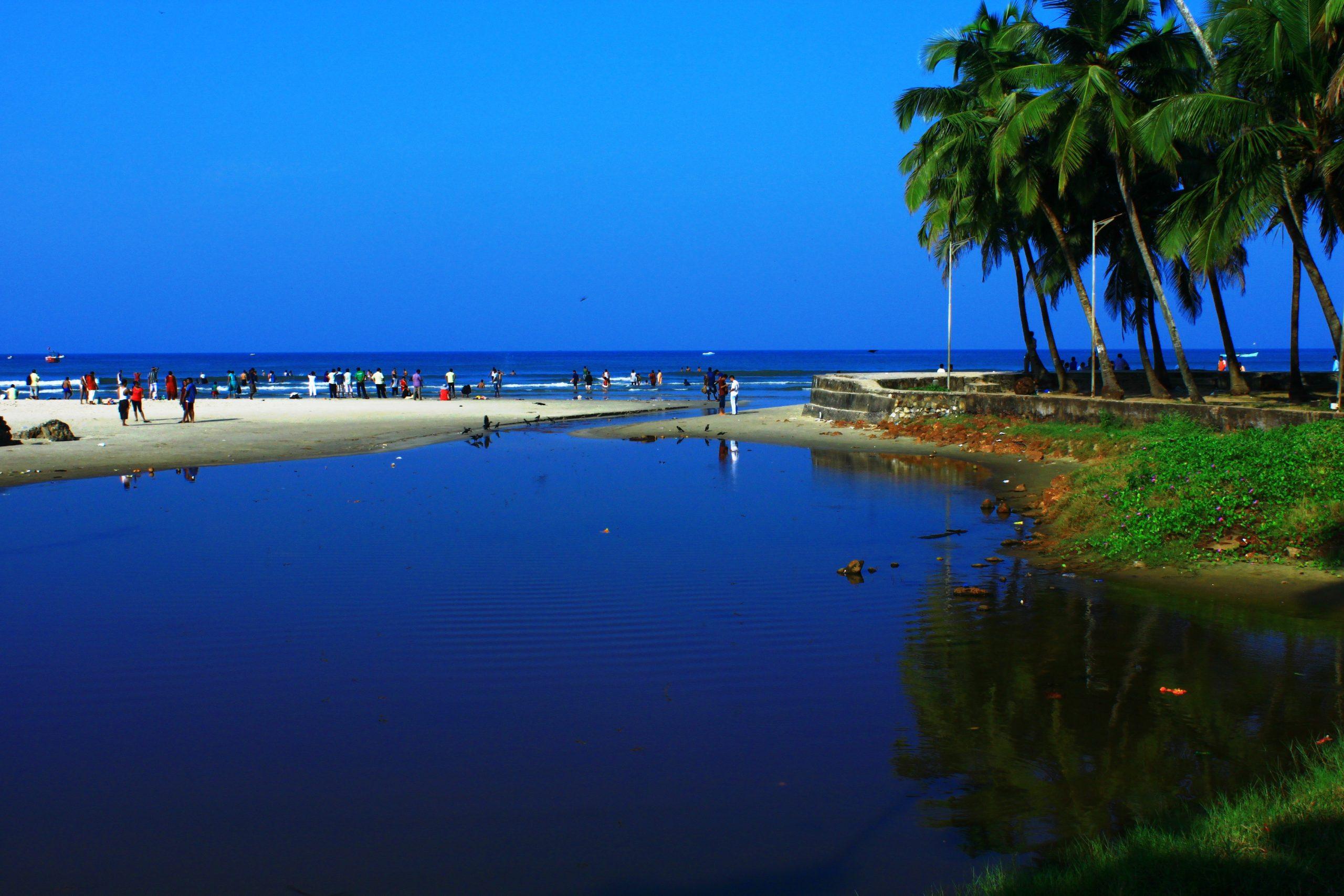 Colba Beach in Goa