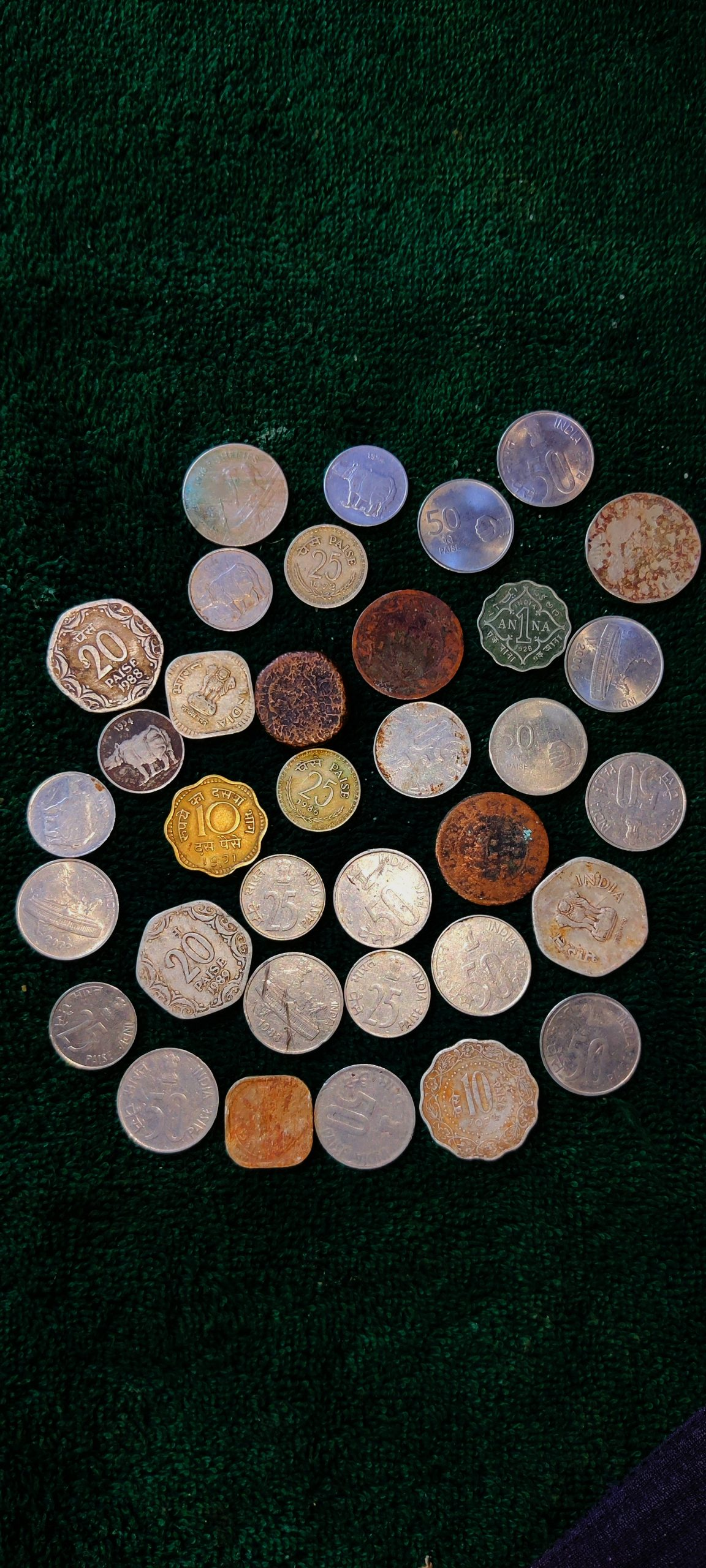 Collection of Old Coins
