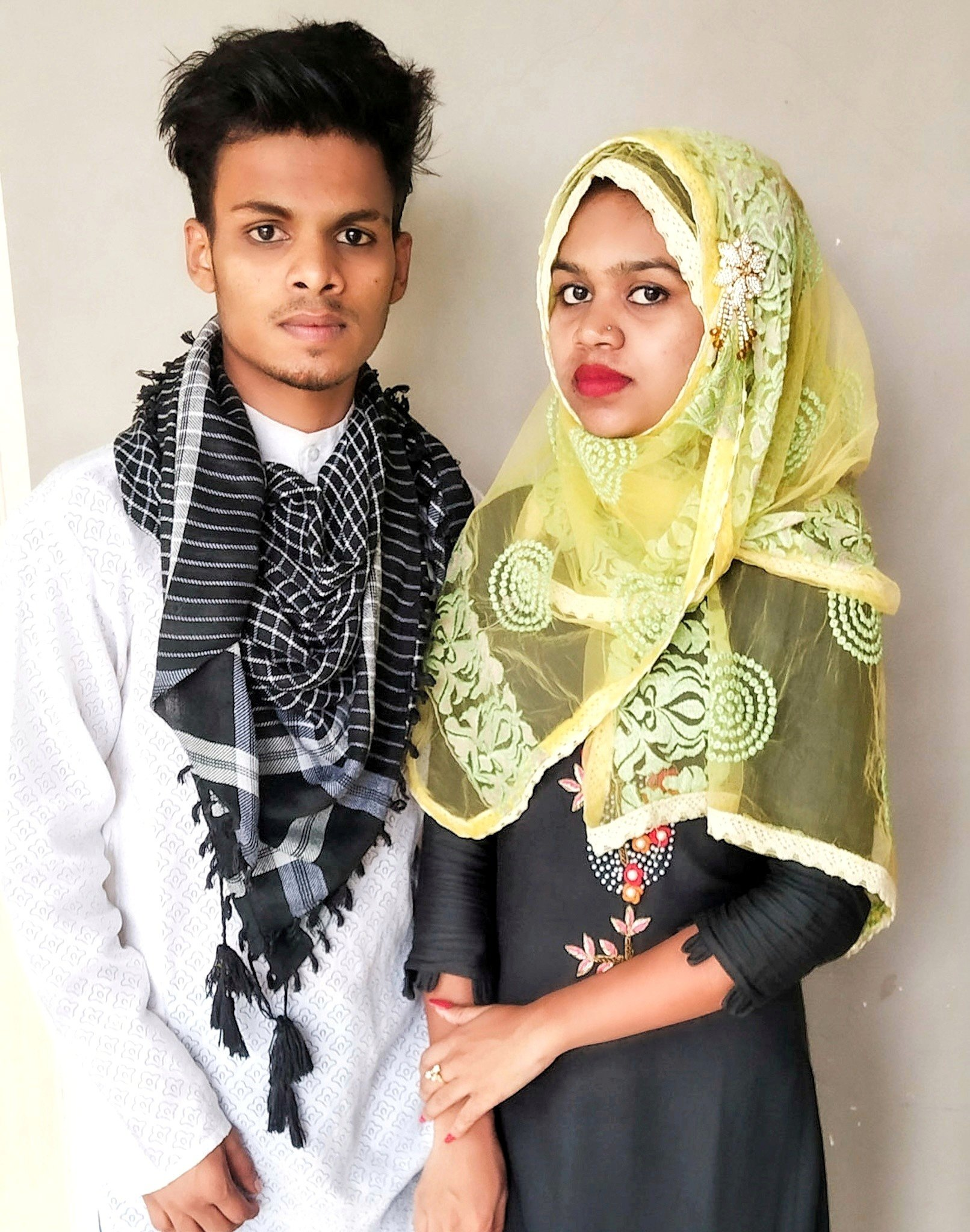 A young Indian couple