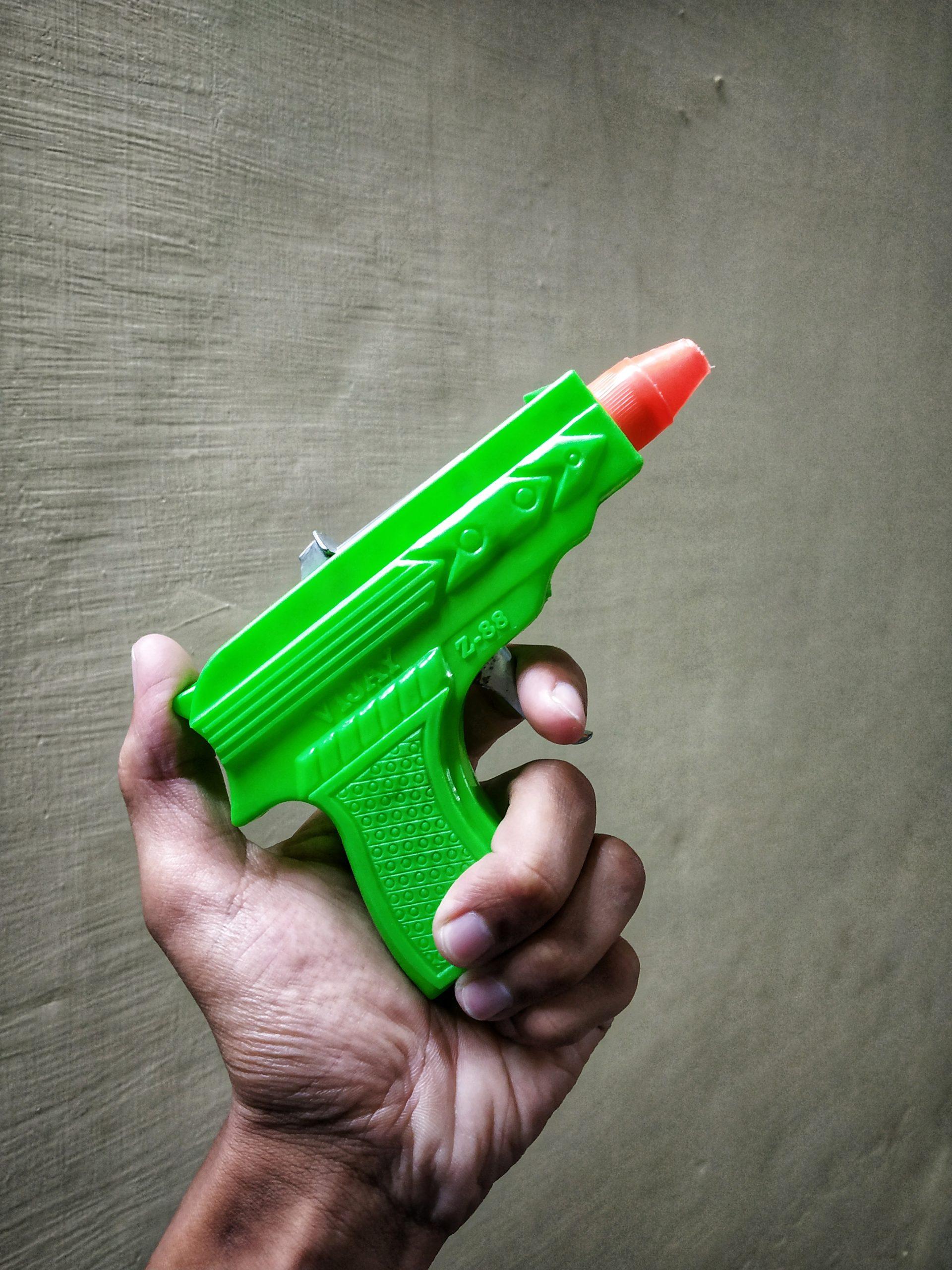 A toy gun