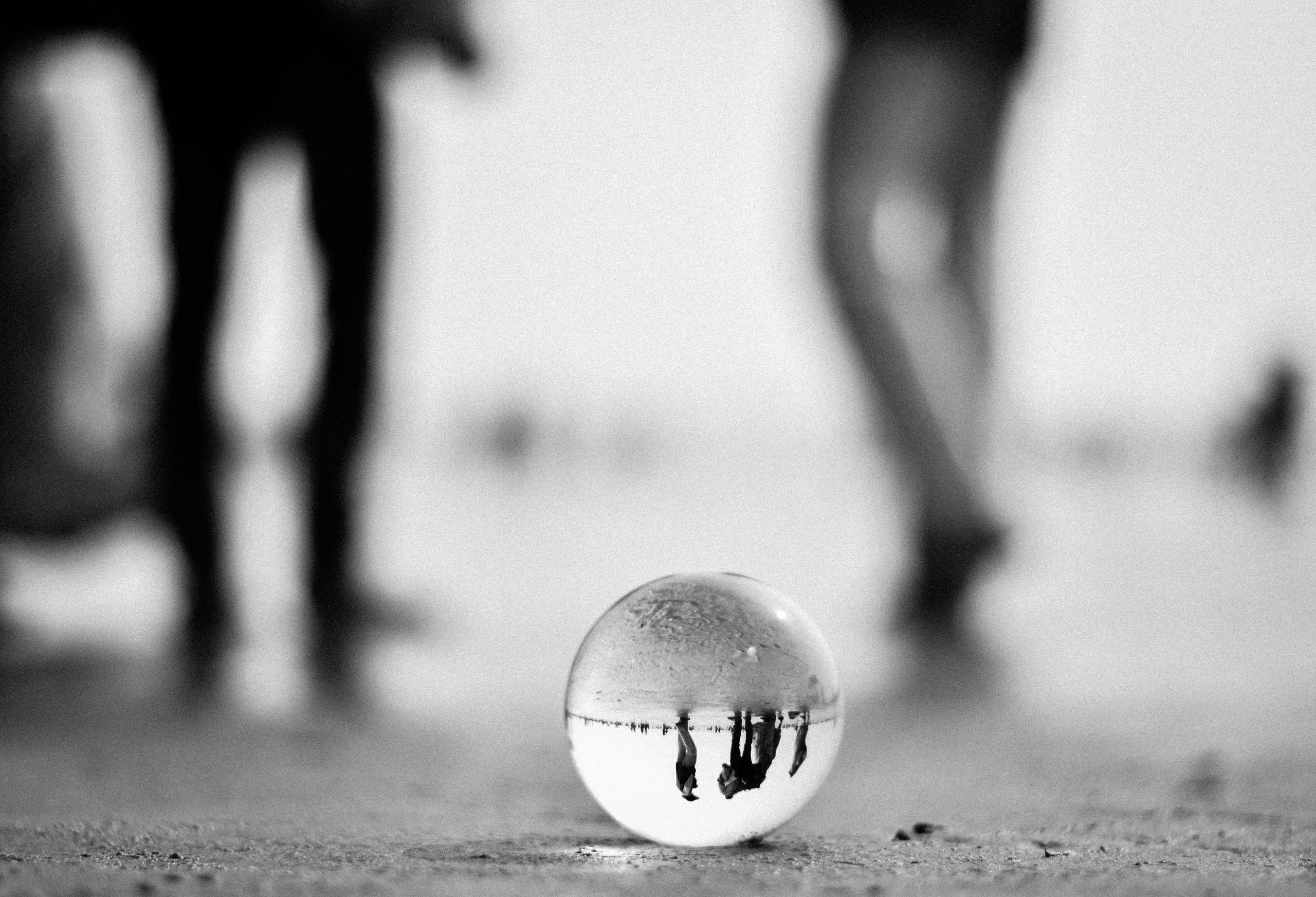 Creative reflection in ball