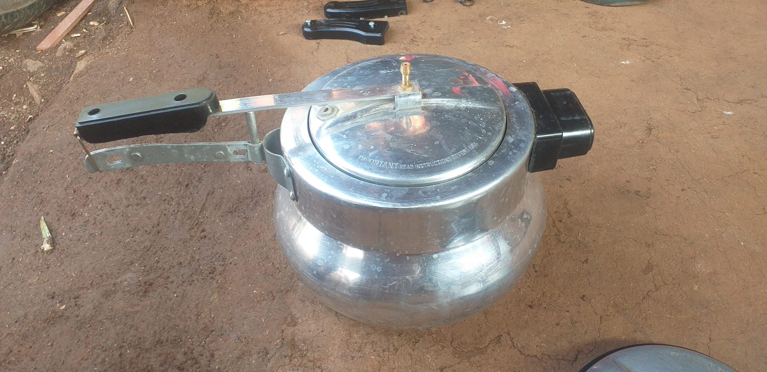 A pressure cooker