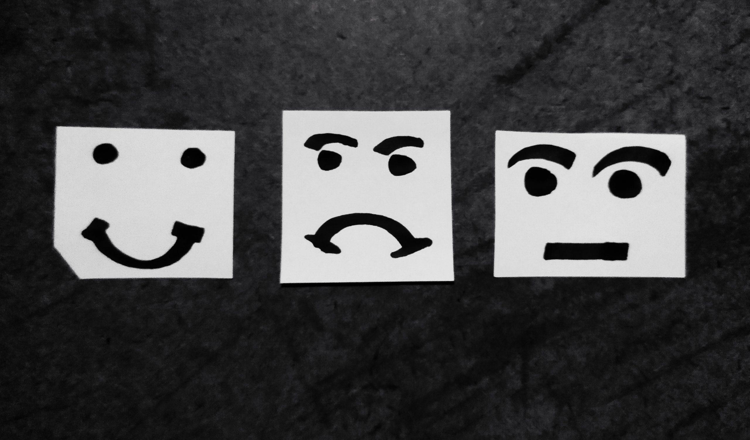 Customer feedback faces