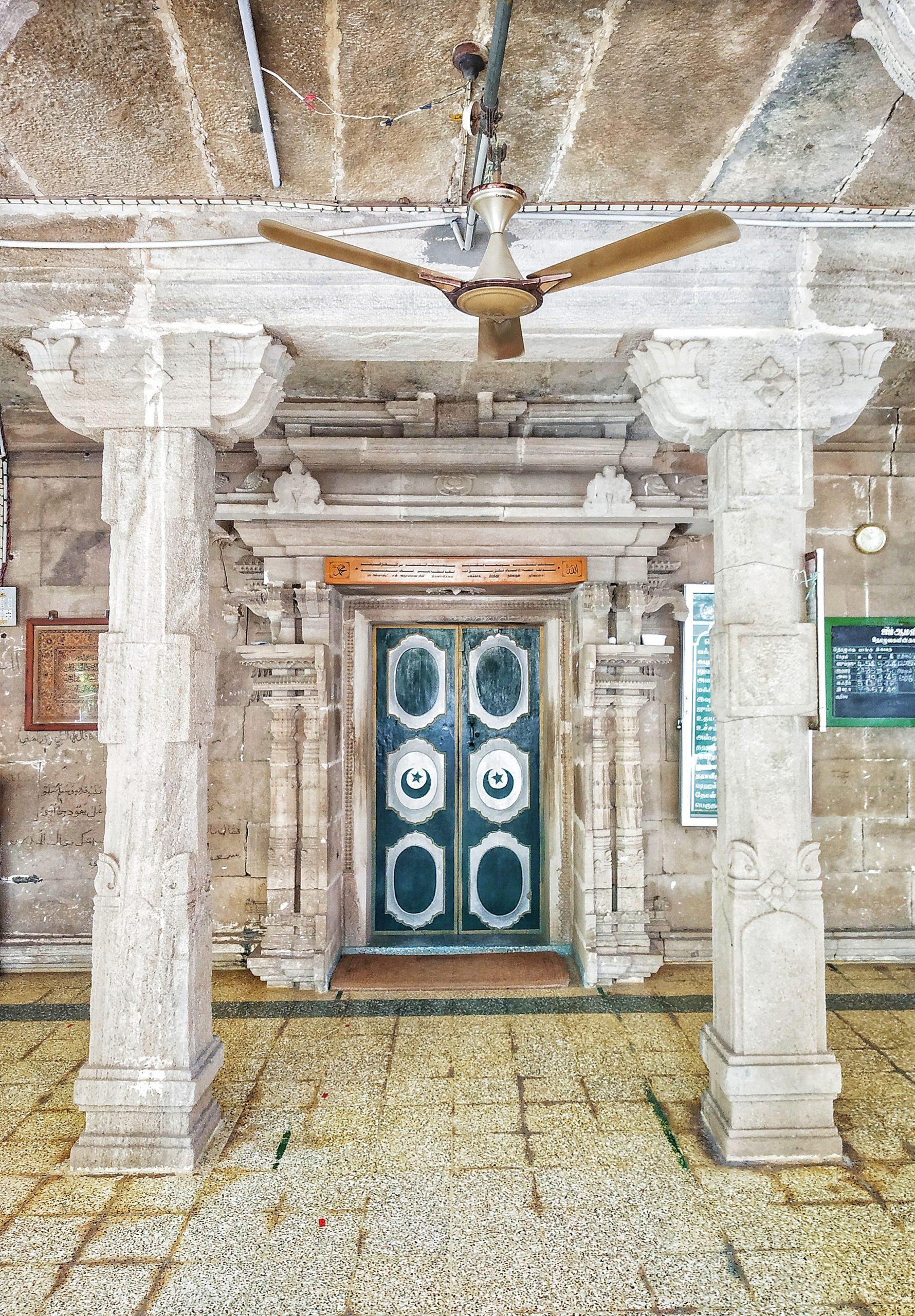 Interior of a dargah