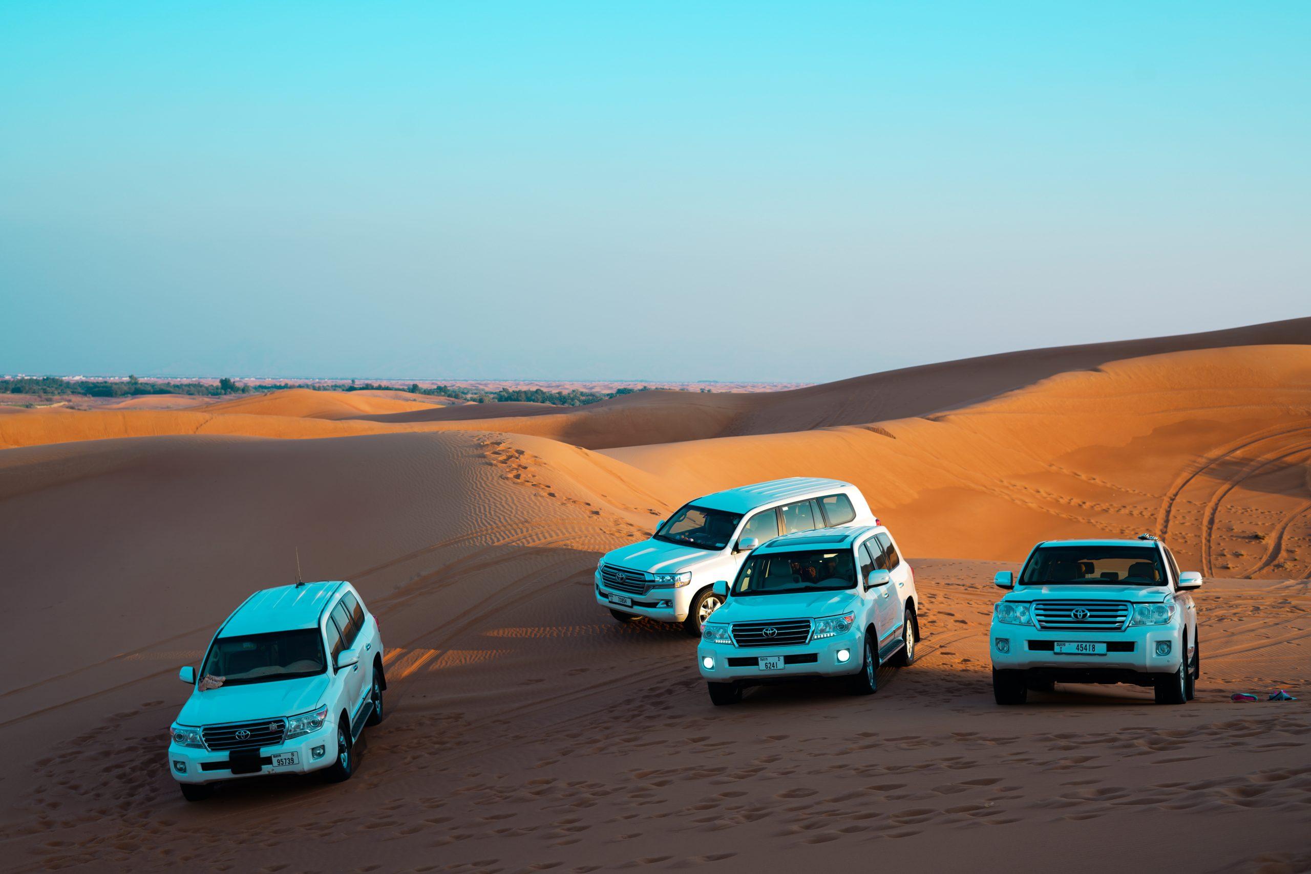 Desert Safari vehicles