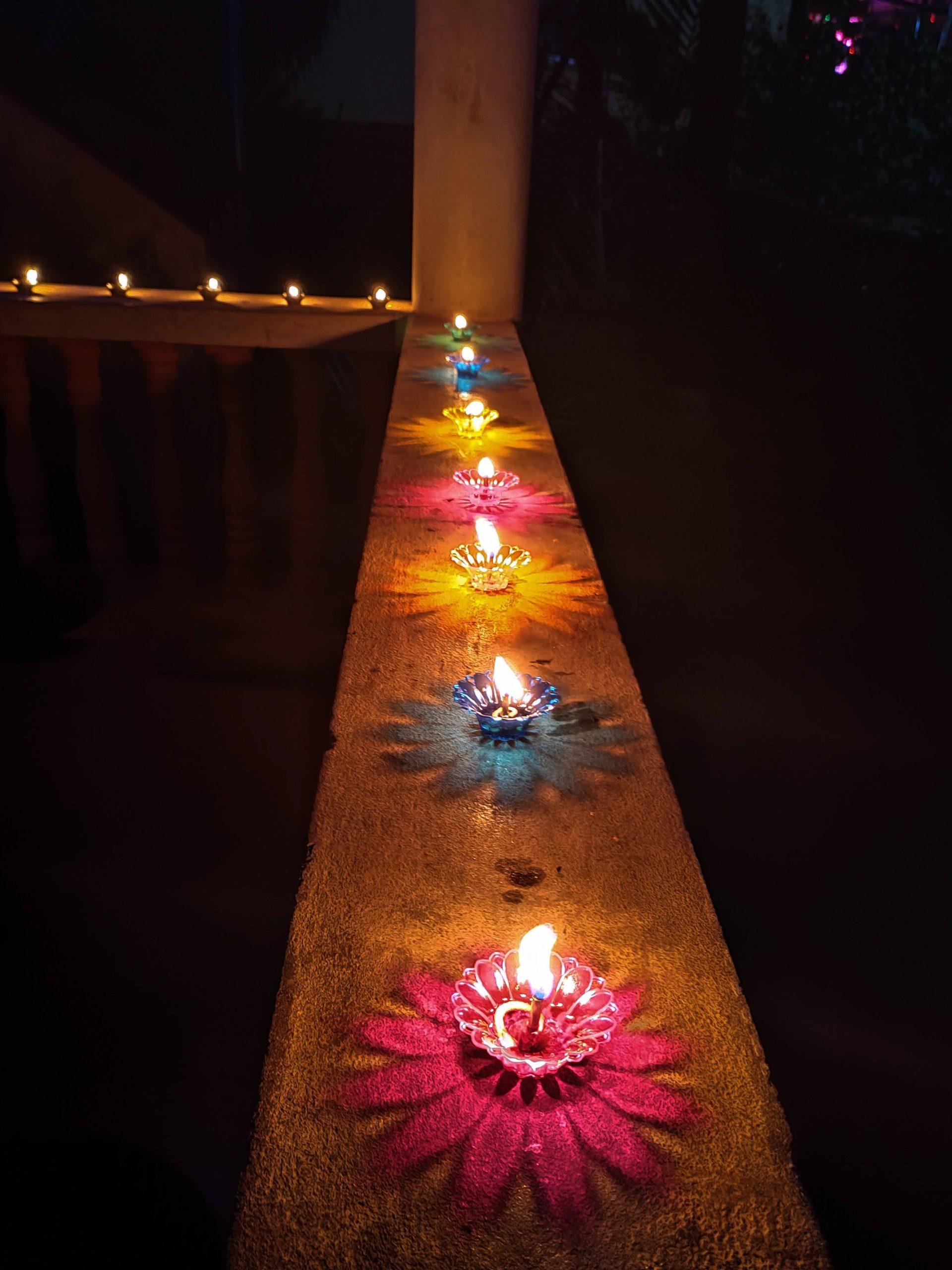 diya lamps