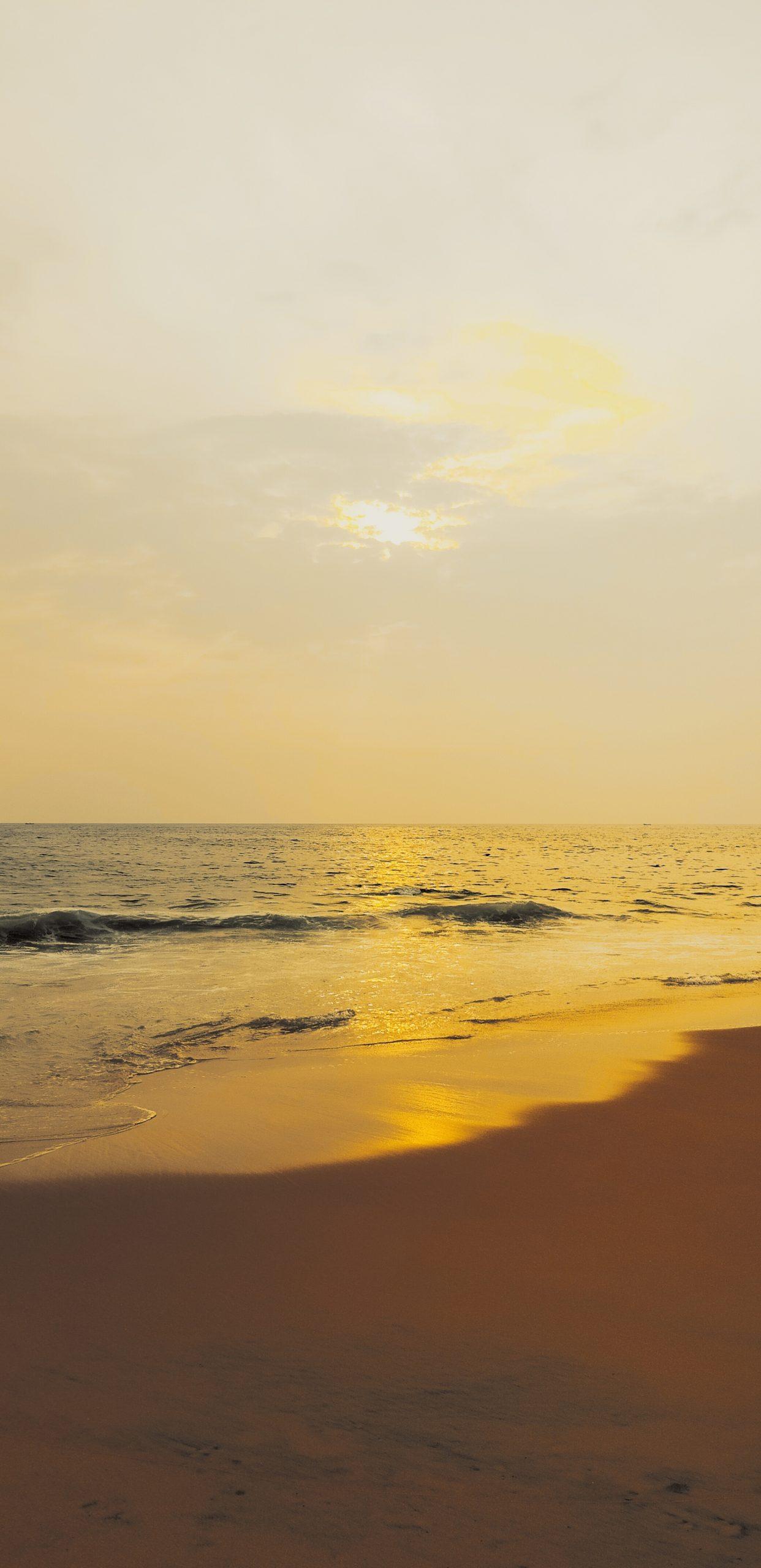 Evening at a beach