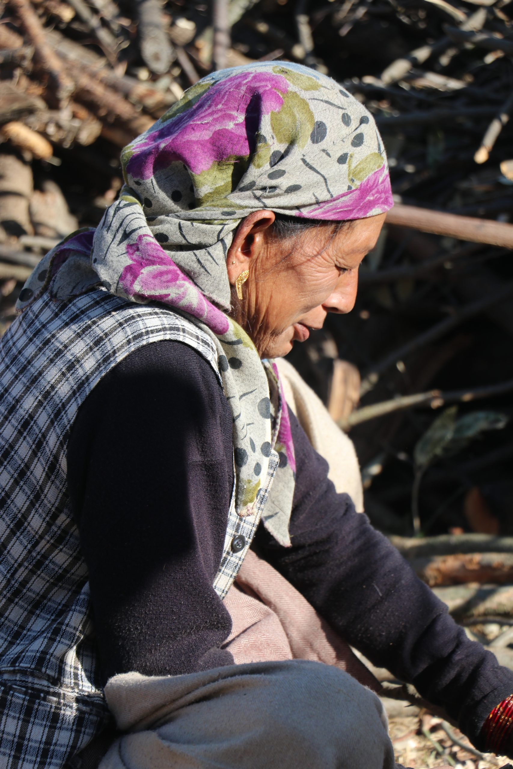 An old woman