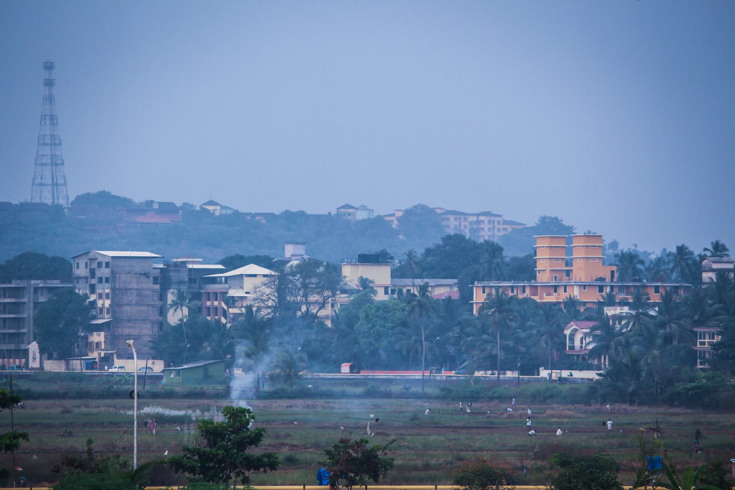 Landscape of a city