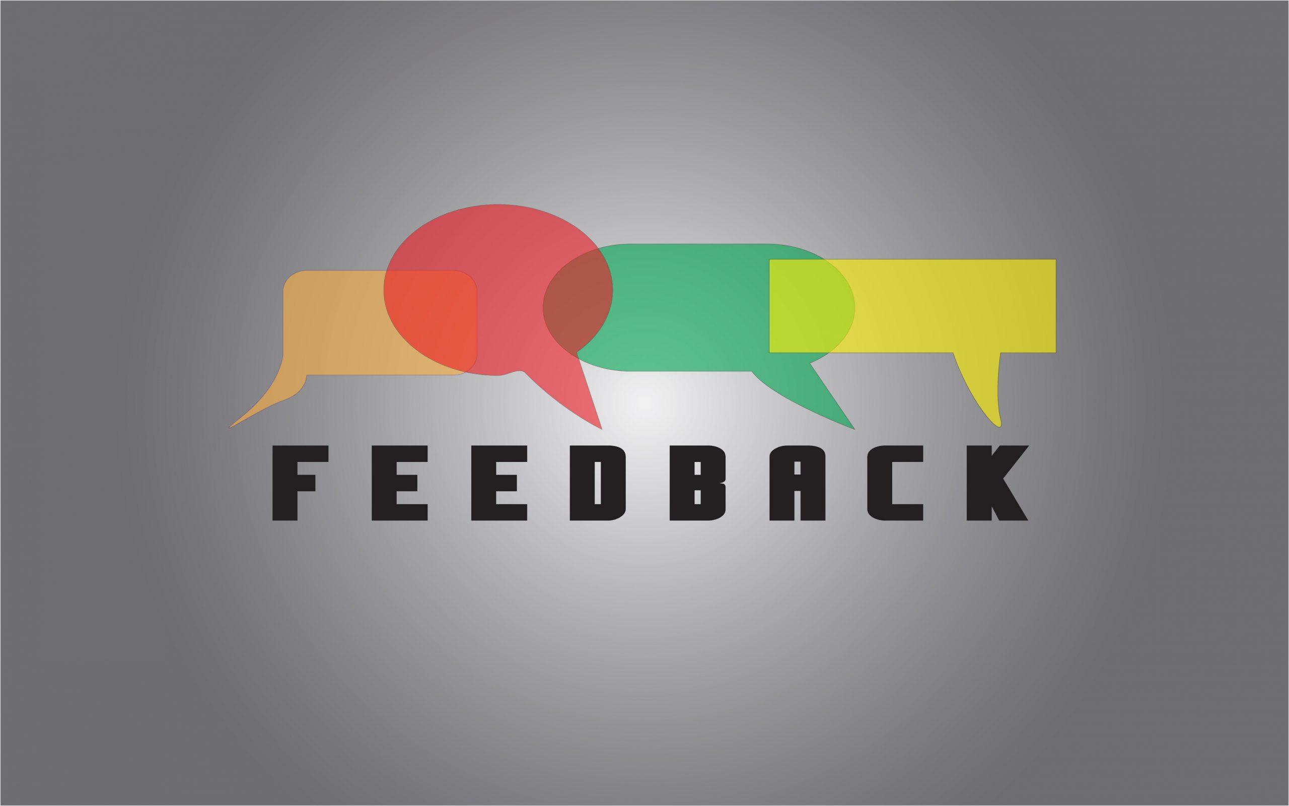A feedback illustration