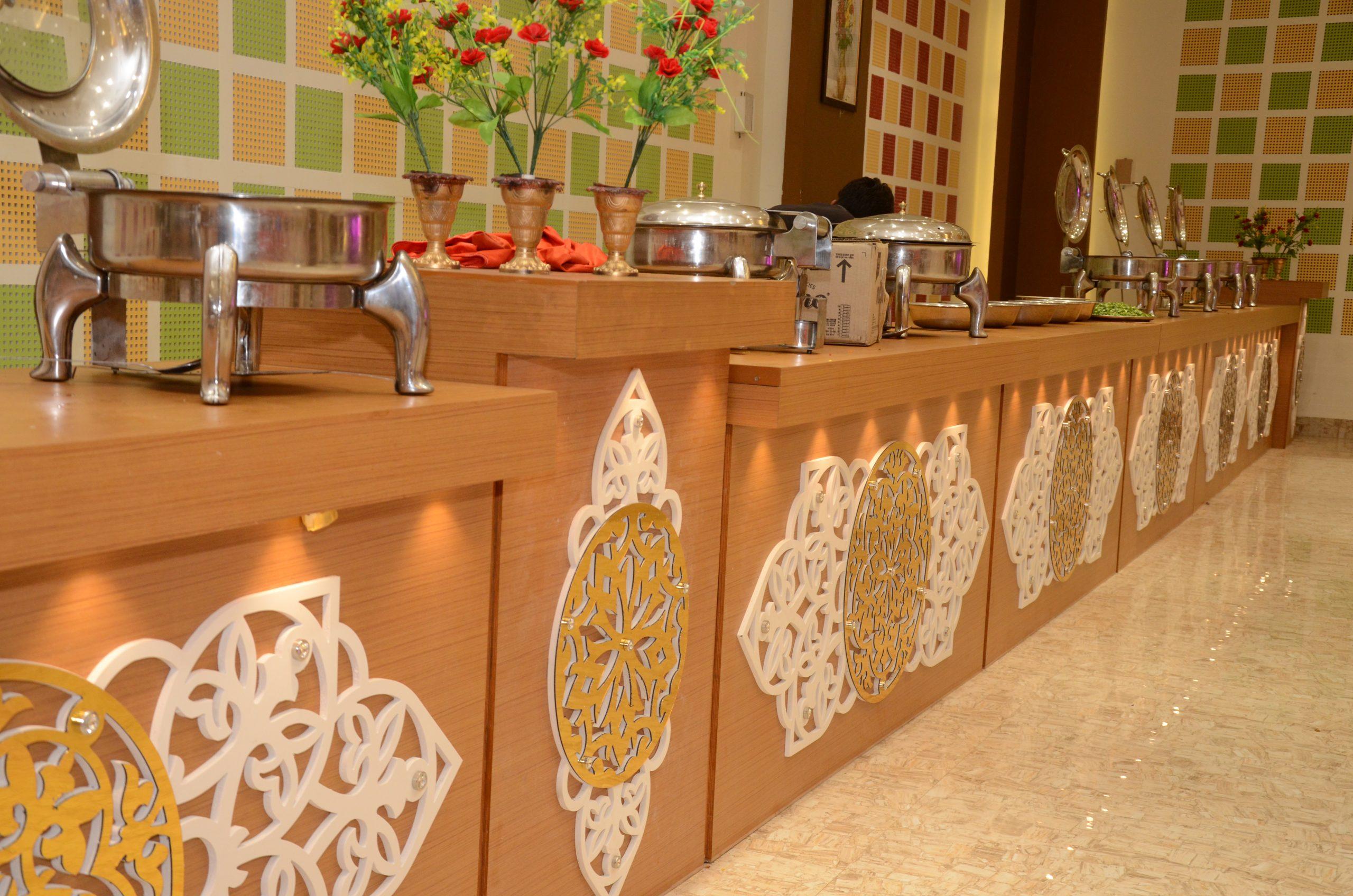 food court at wedding