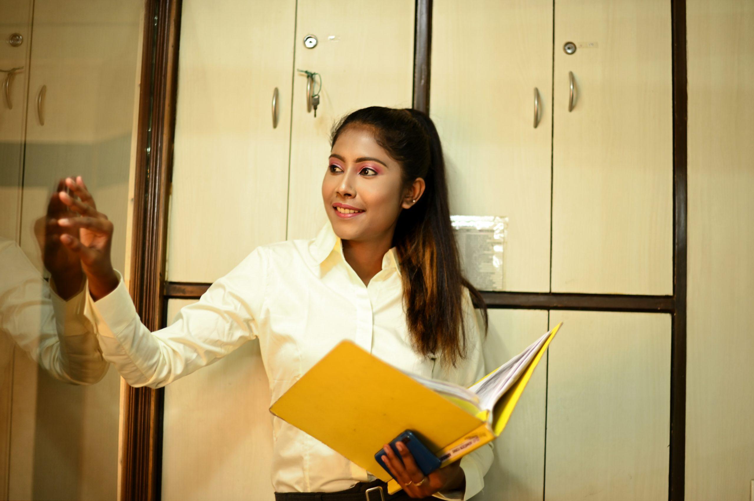 Formal office woman