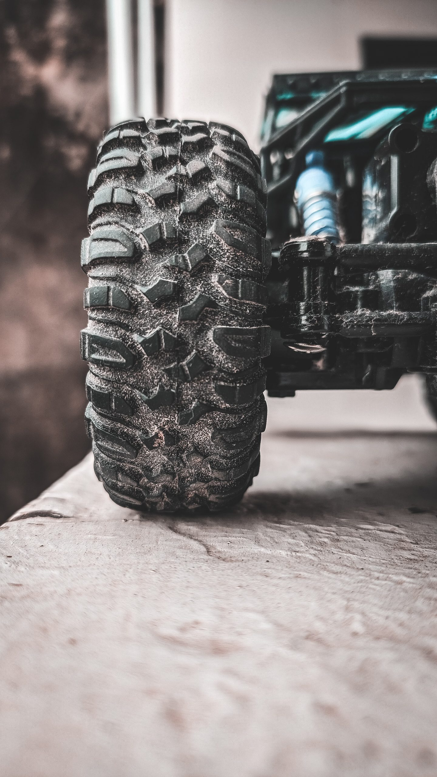 Grip of a vehicle tyre