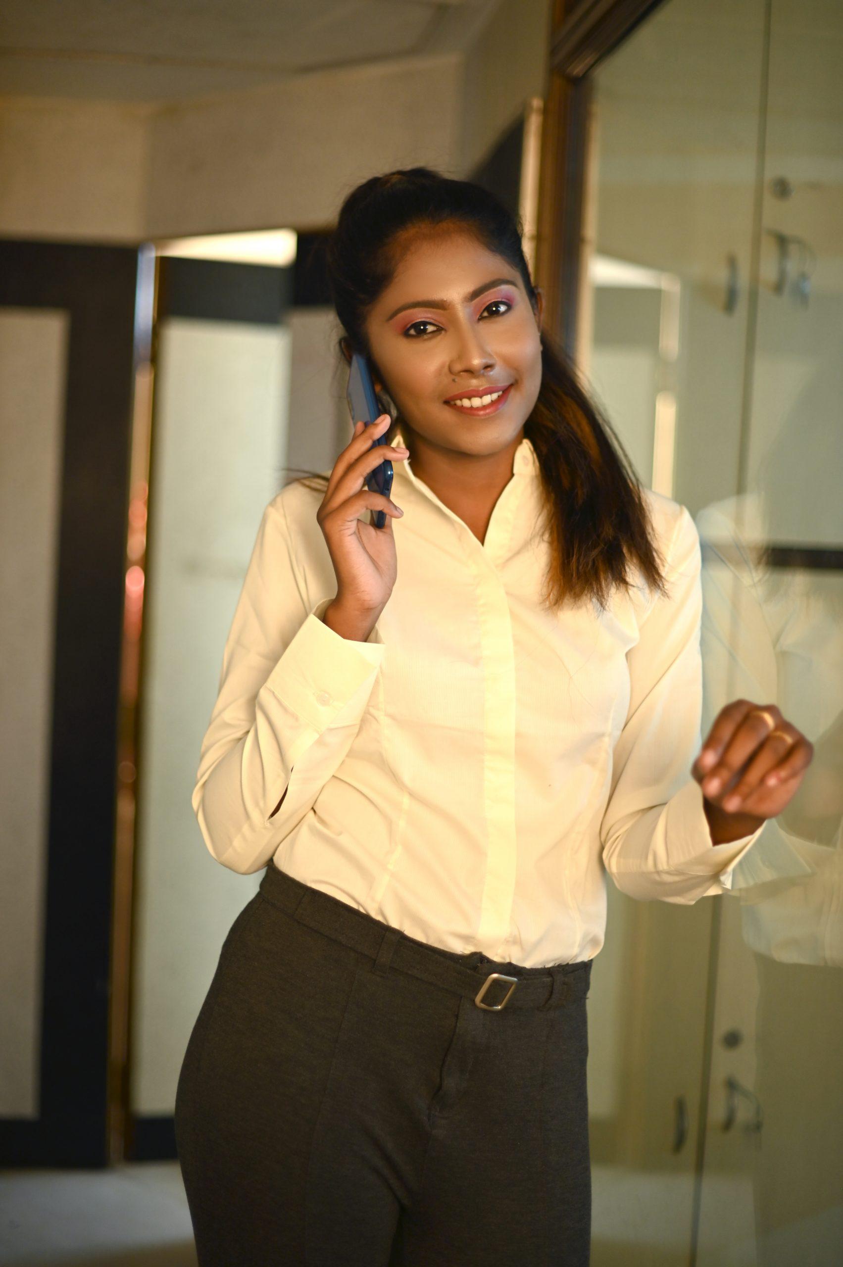 Happy Corporate Girl