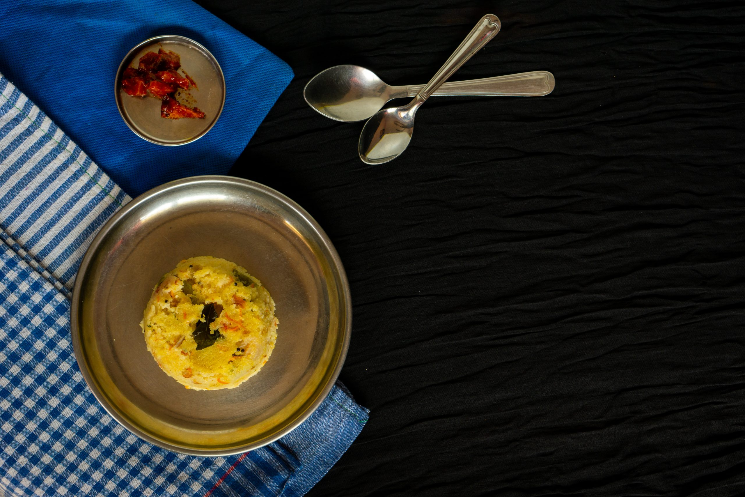 Indian food dish upma