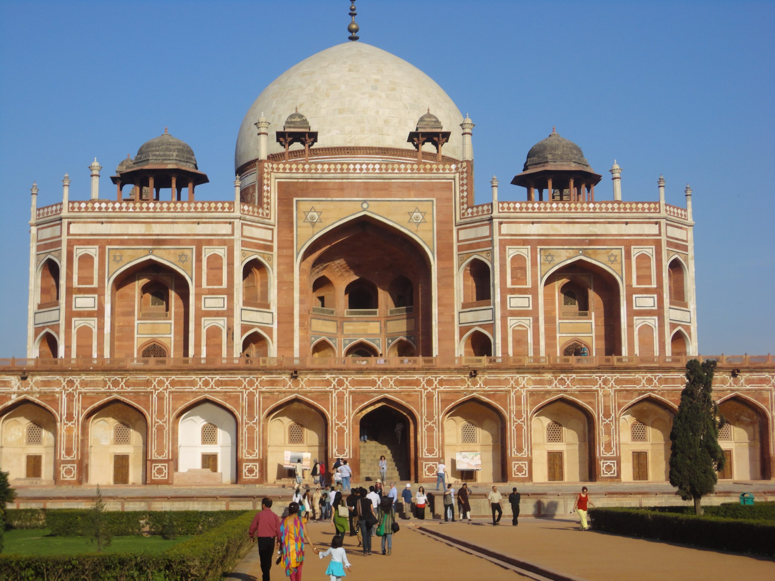 Scenic view of Humayun Tomb