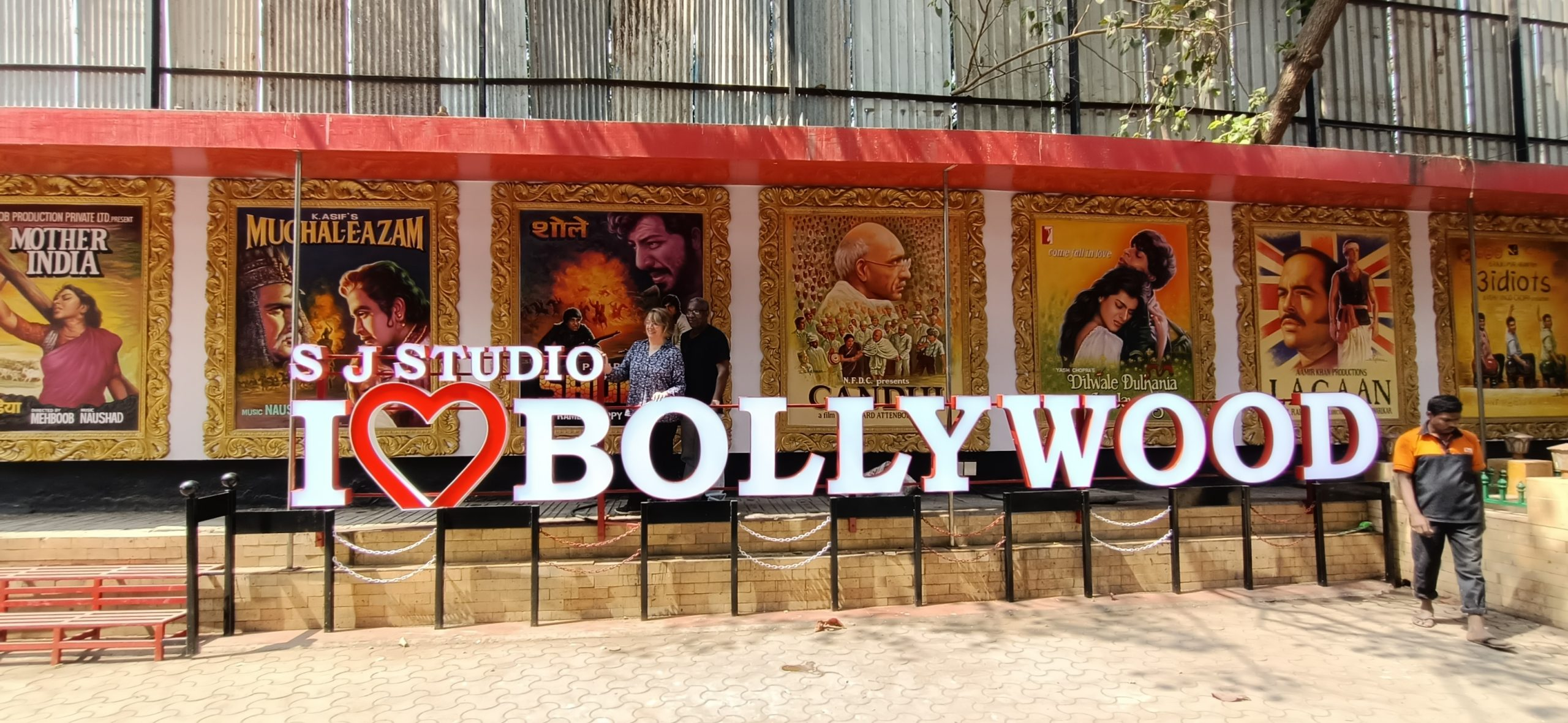 A signage of Bollywood