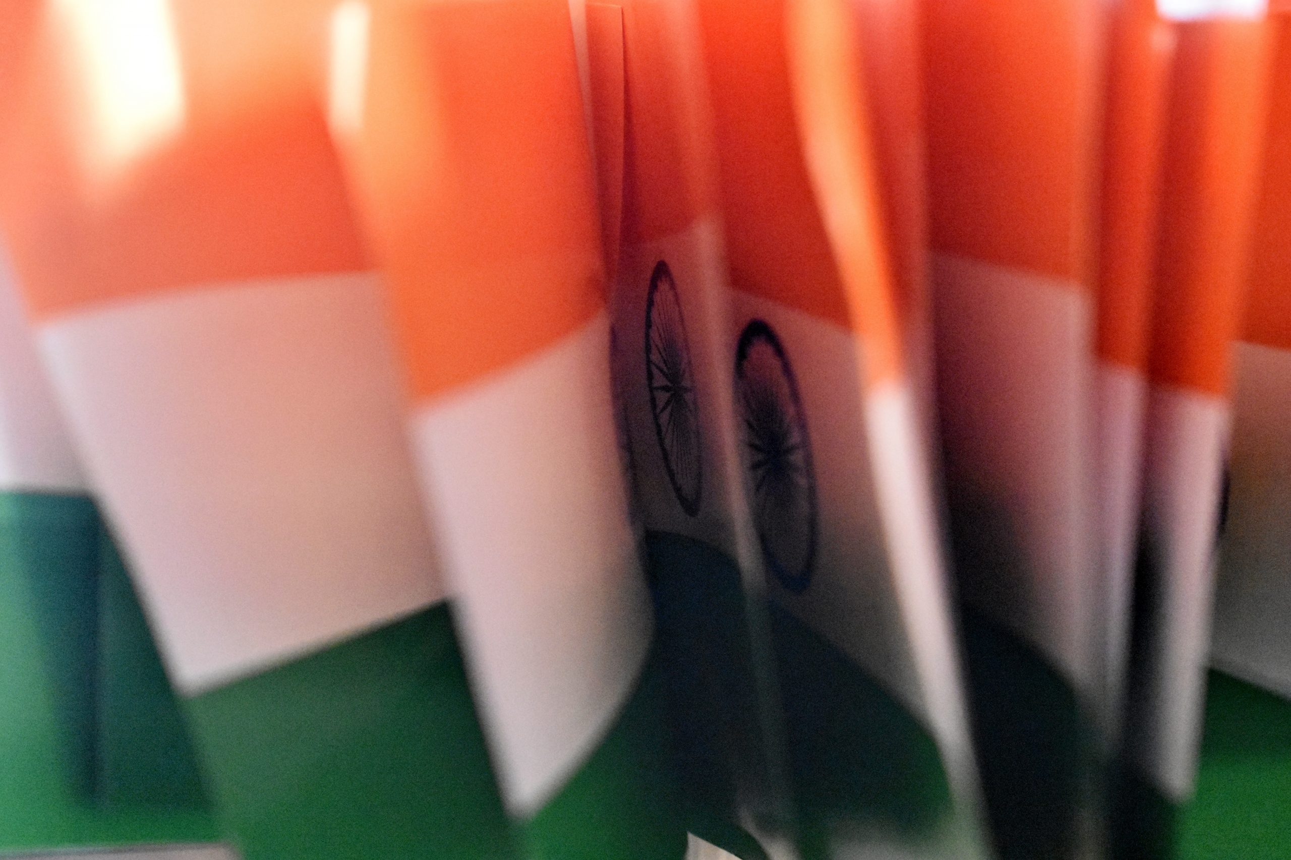 Indian flags