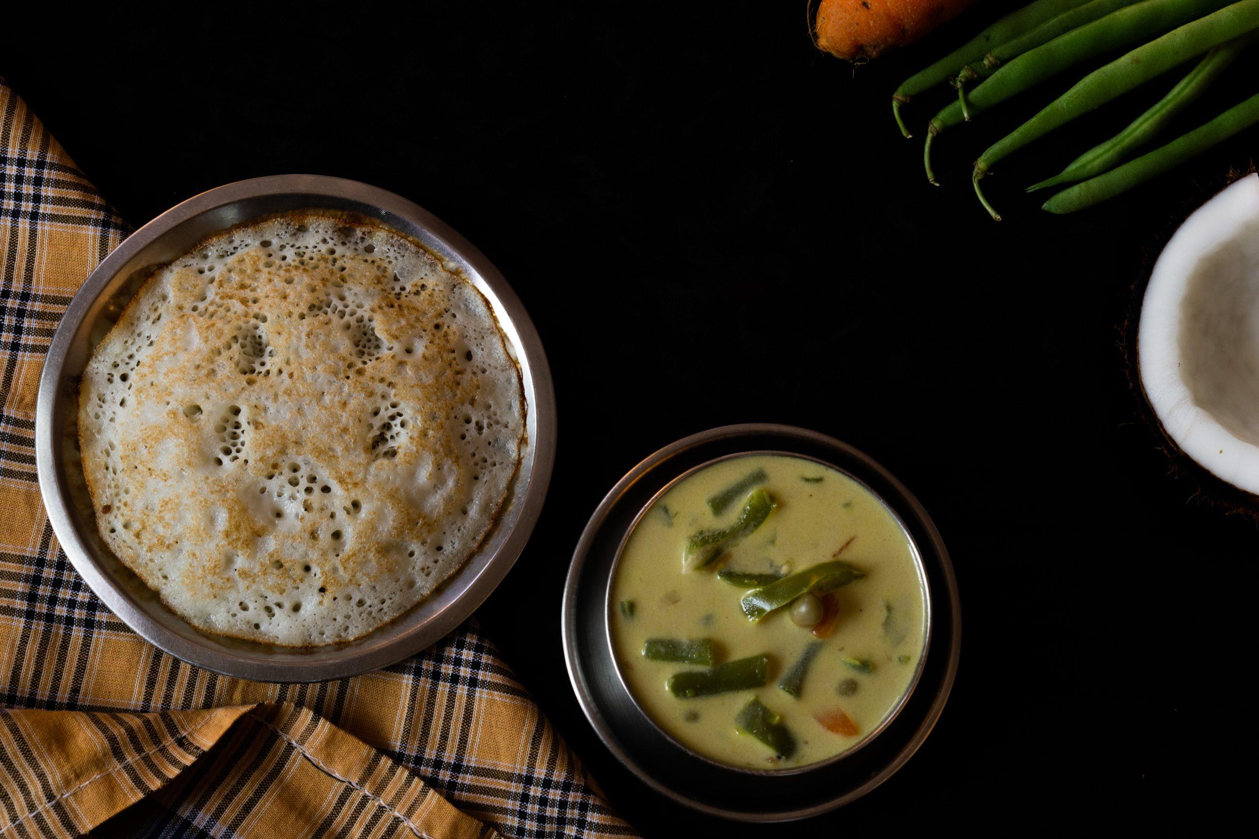 Indian food dish dosa