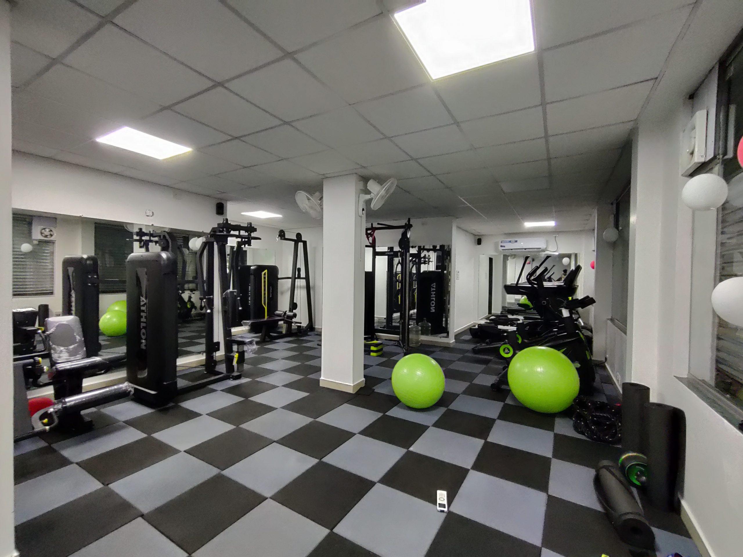 Interior of a Gym