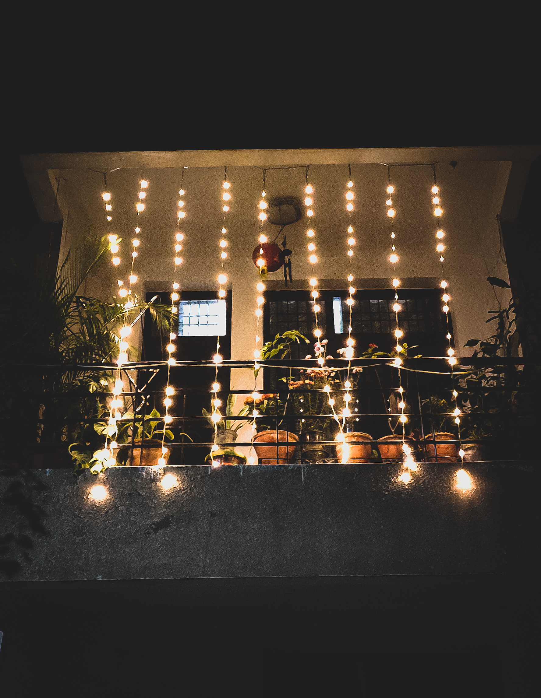 Lighting of a house