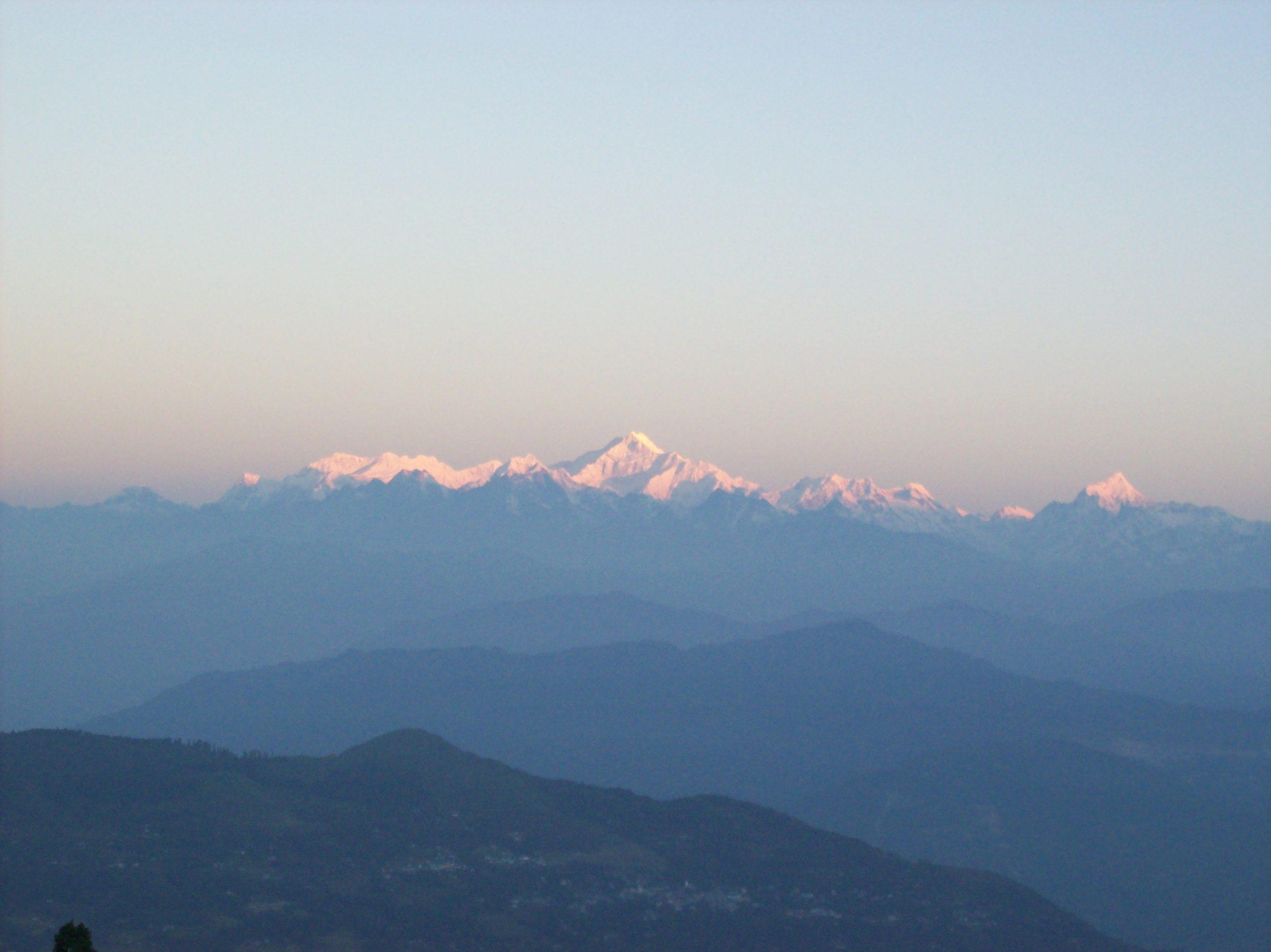 Kanchenjungha mountains