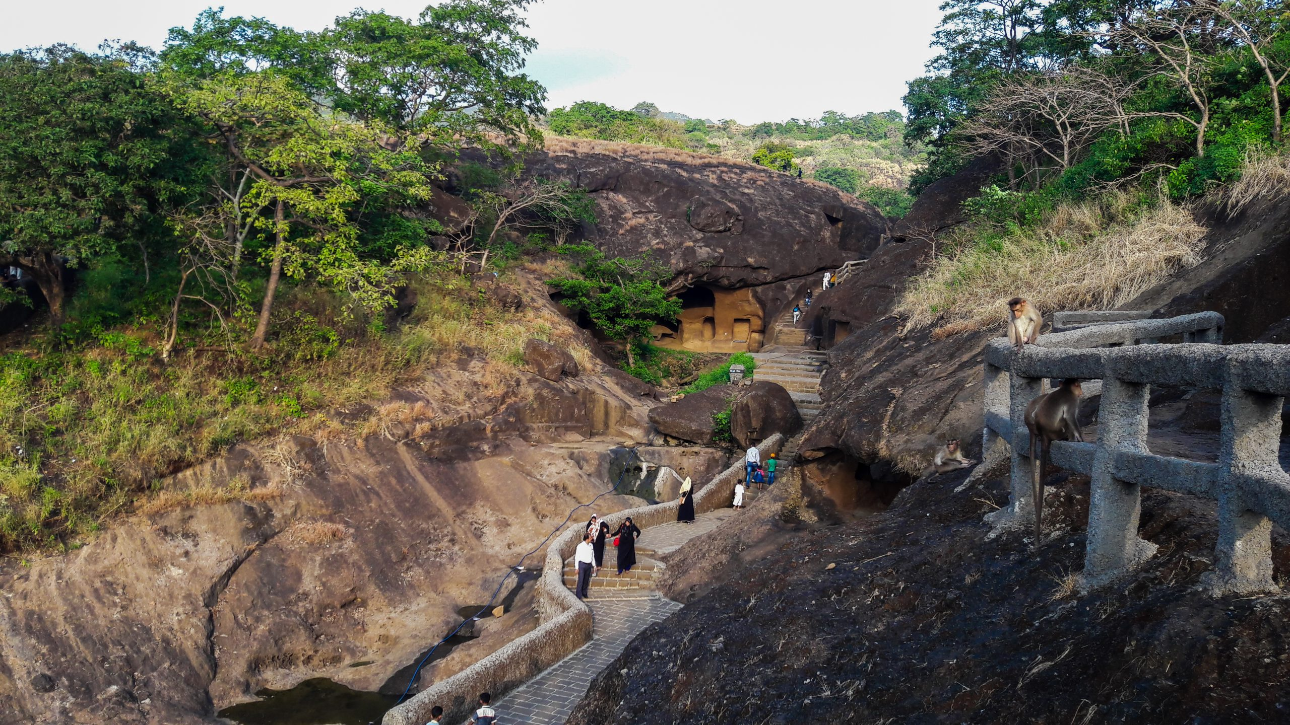 Kanheri caves in Borivali