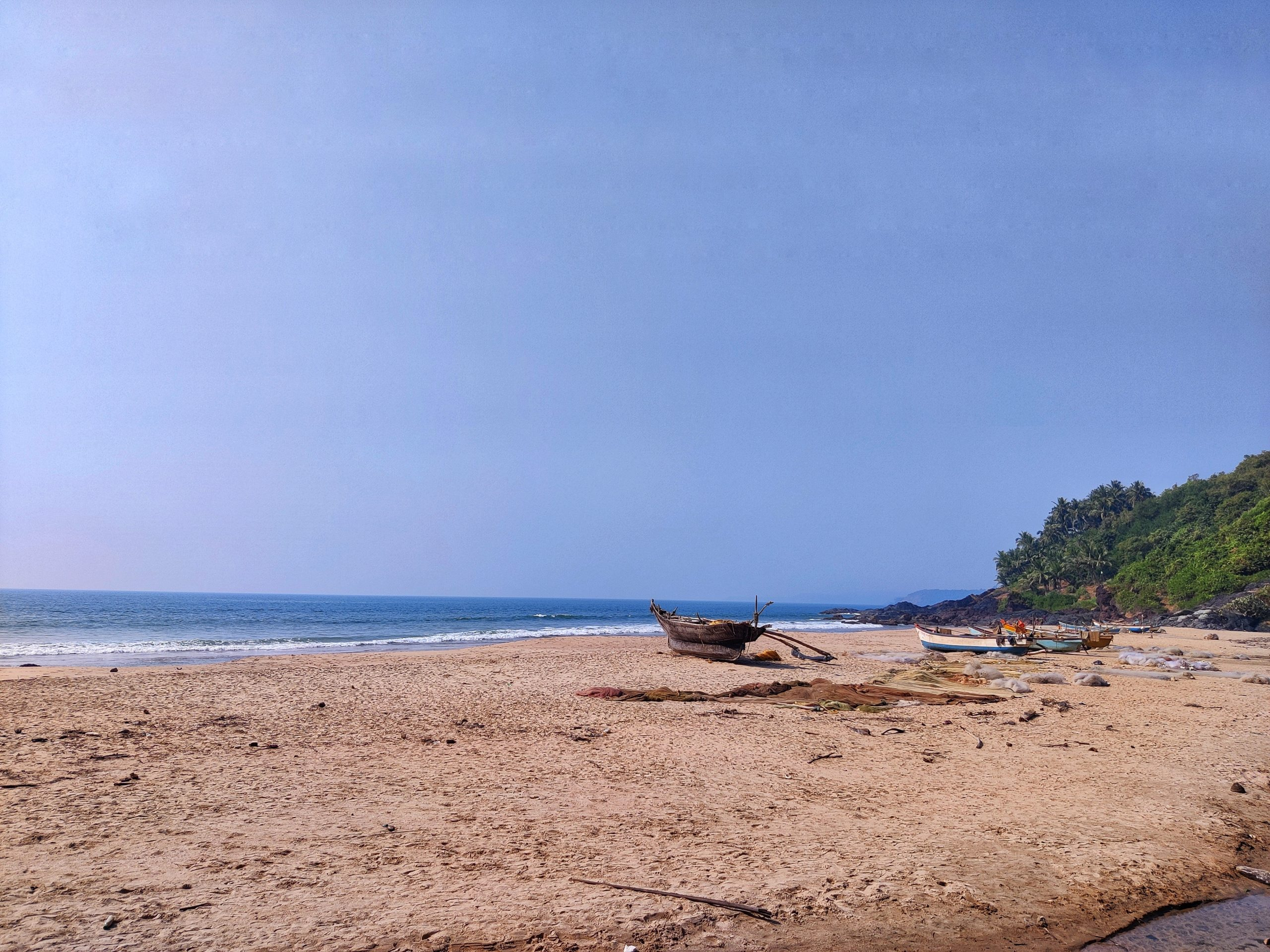 Kondura beach in Mumbai