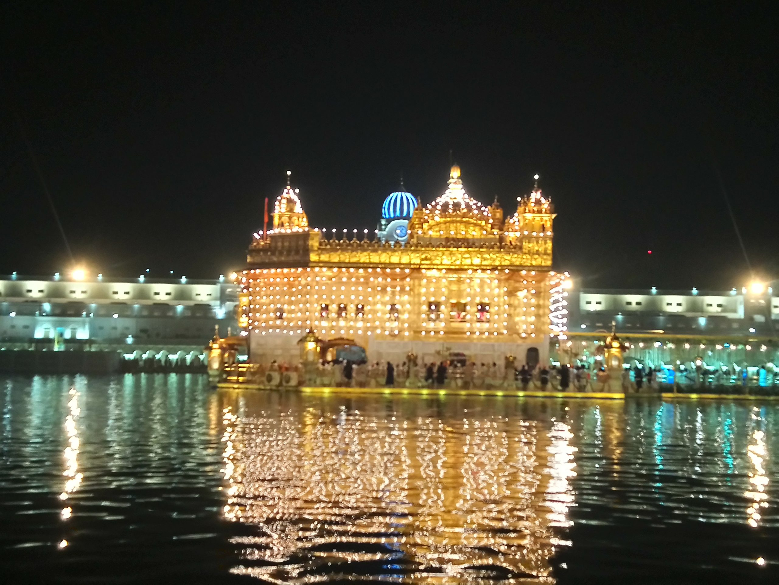 Lighting of Golden temple Amritsar