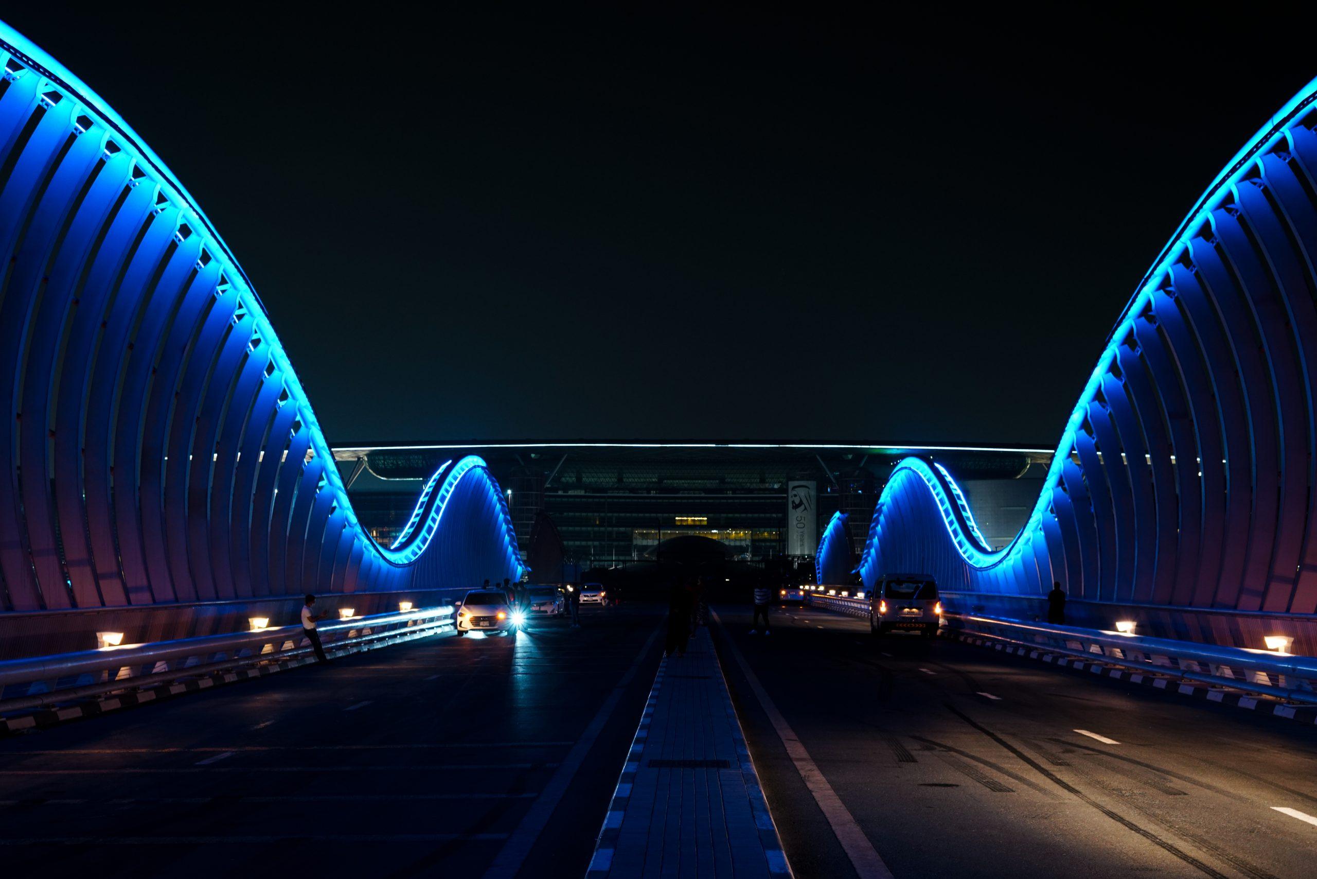 Meydan Bridge of Dubai