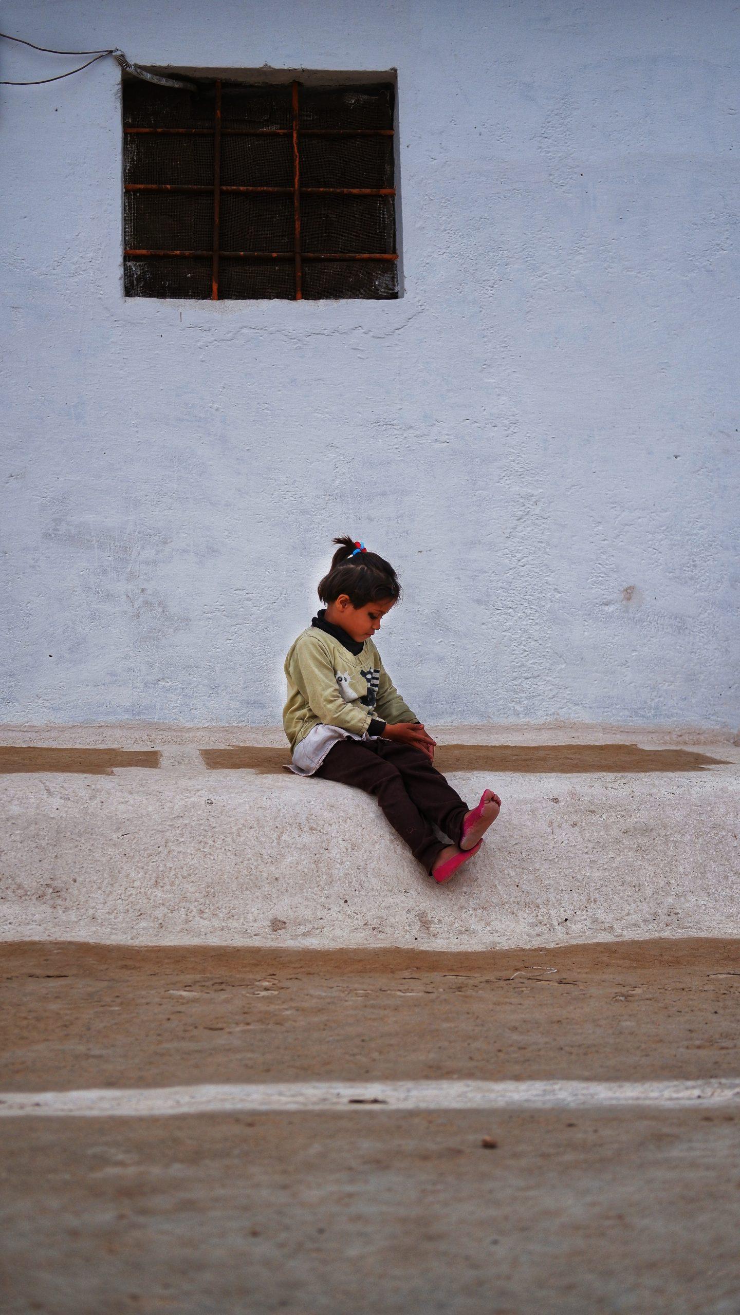 A village kid